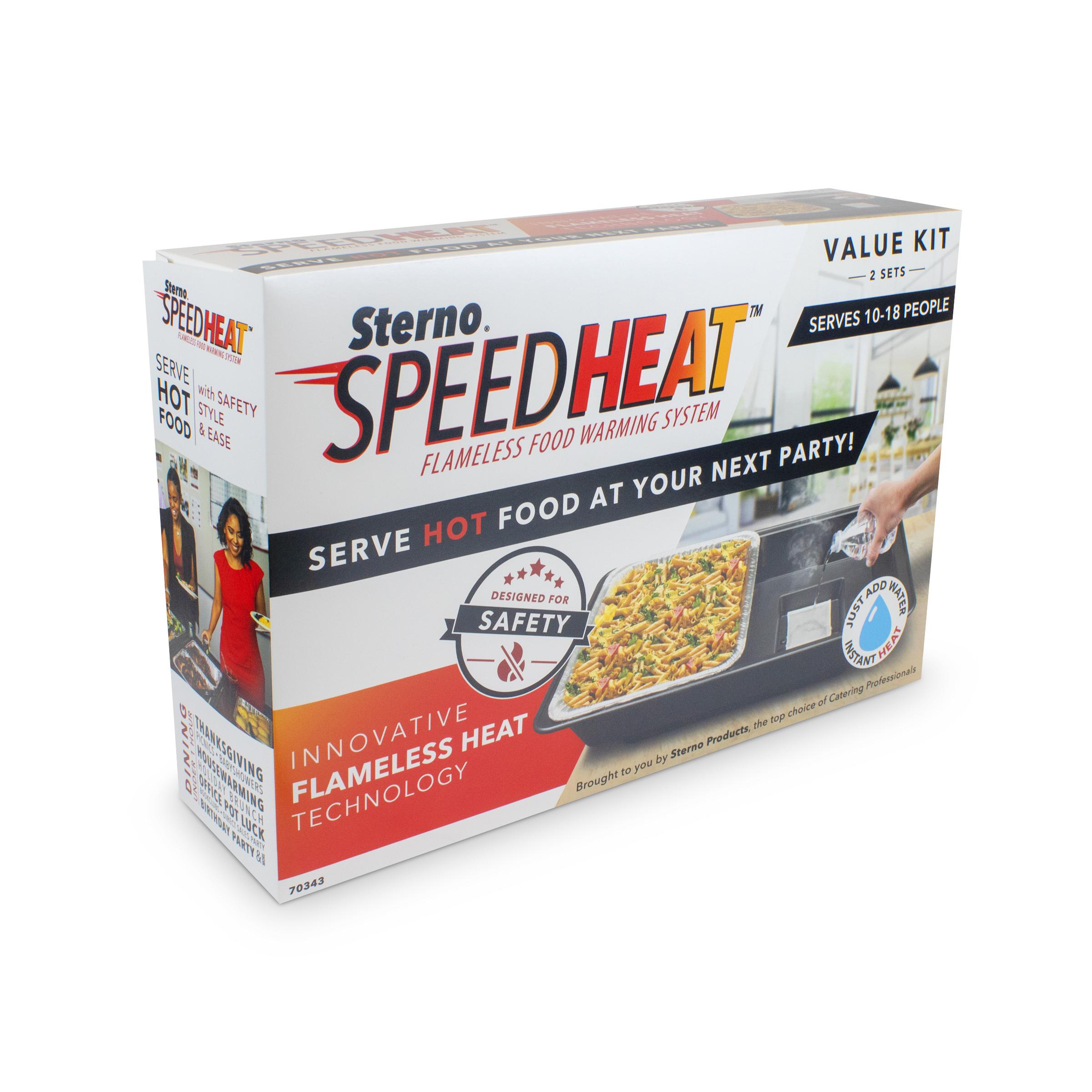 Sterno 70344 speed heat