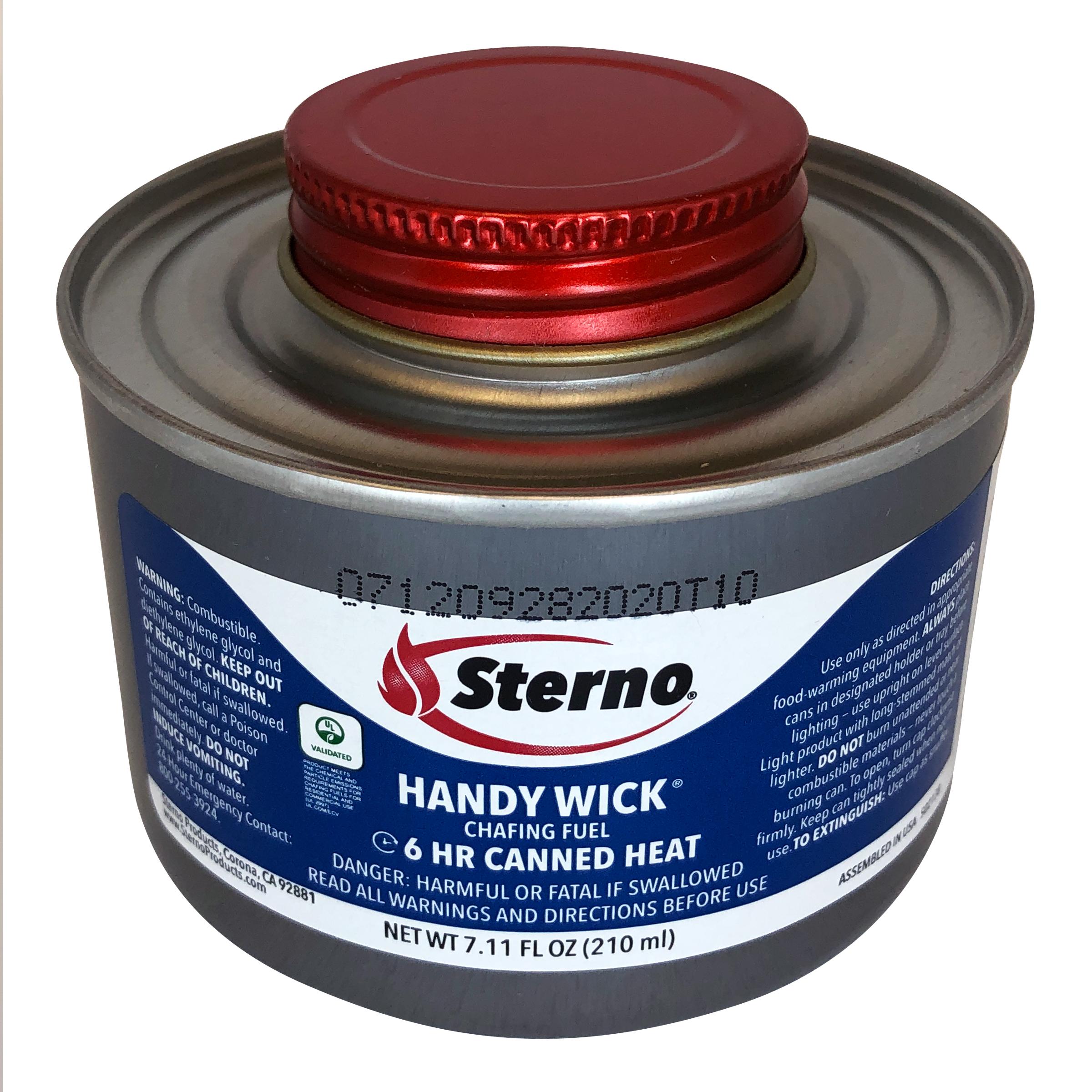 Sterno 10368 wick chafing dish fuel - standard twist