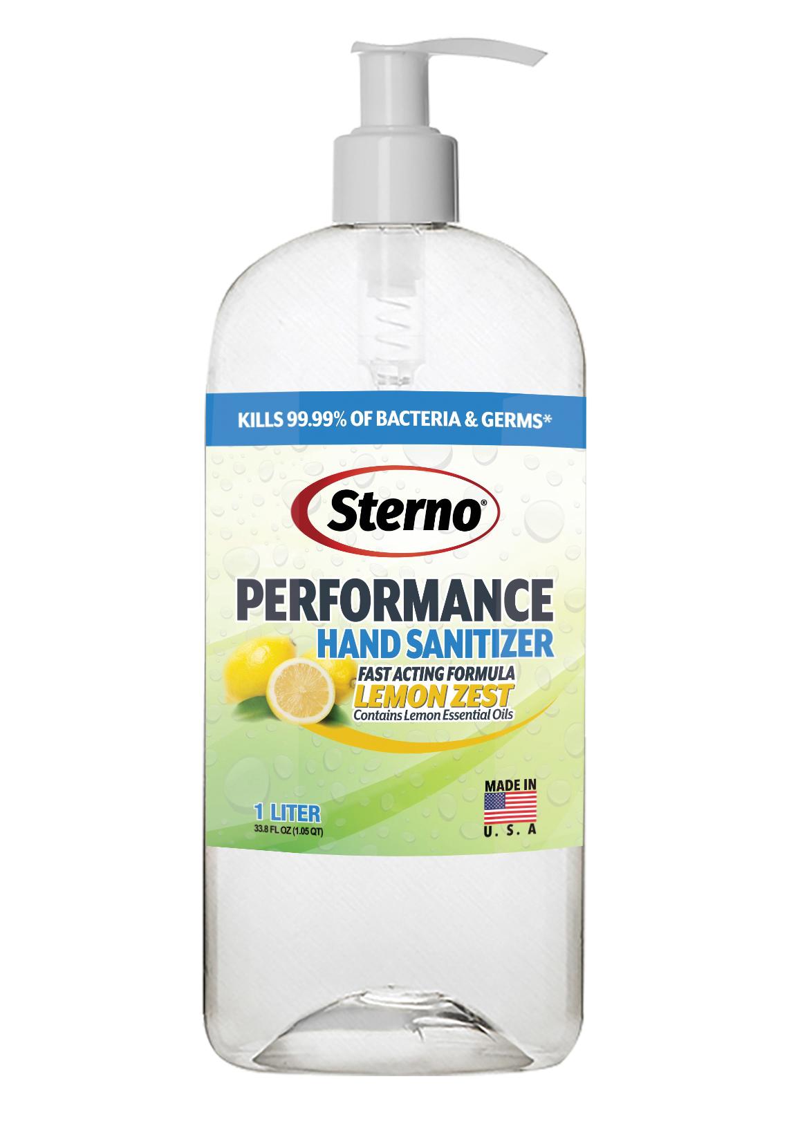 Sterno 20752 hand sanitizer