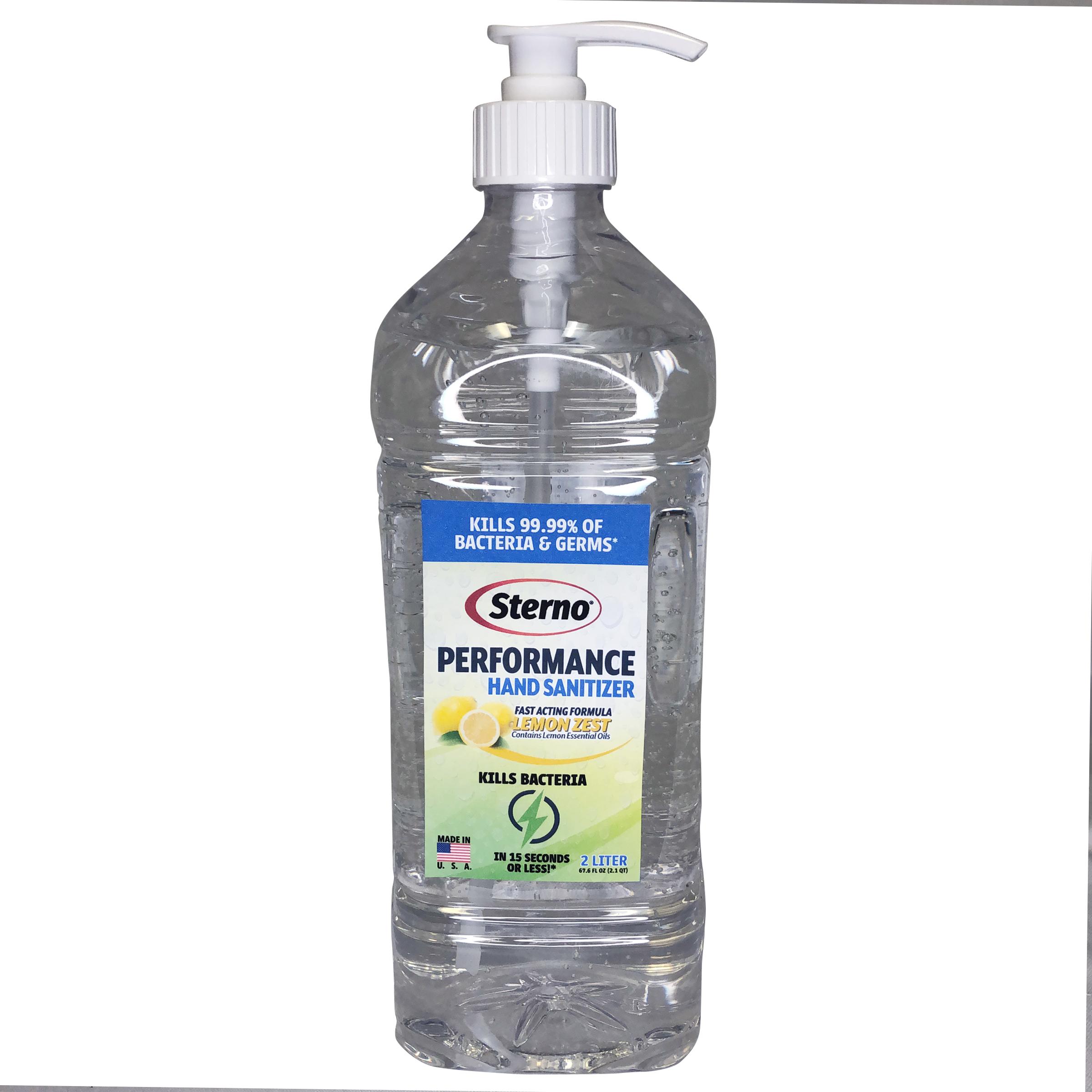 Sterno 20760 hand sanitizer