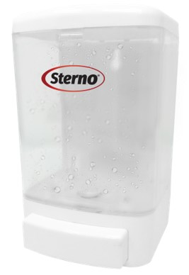 Sterno 70422 hand sanitizer dispenser