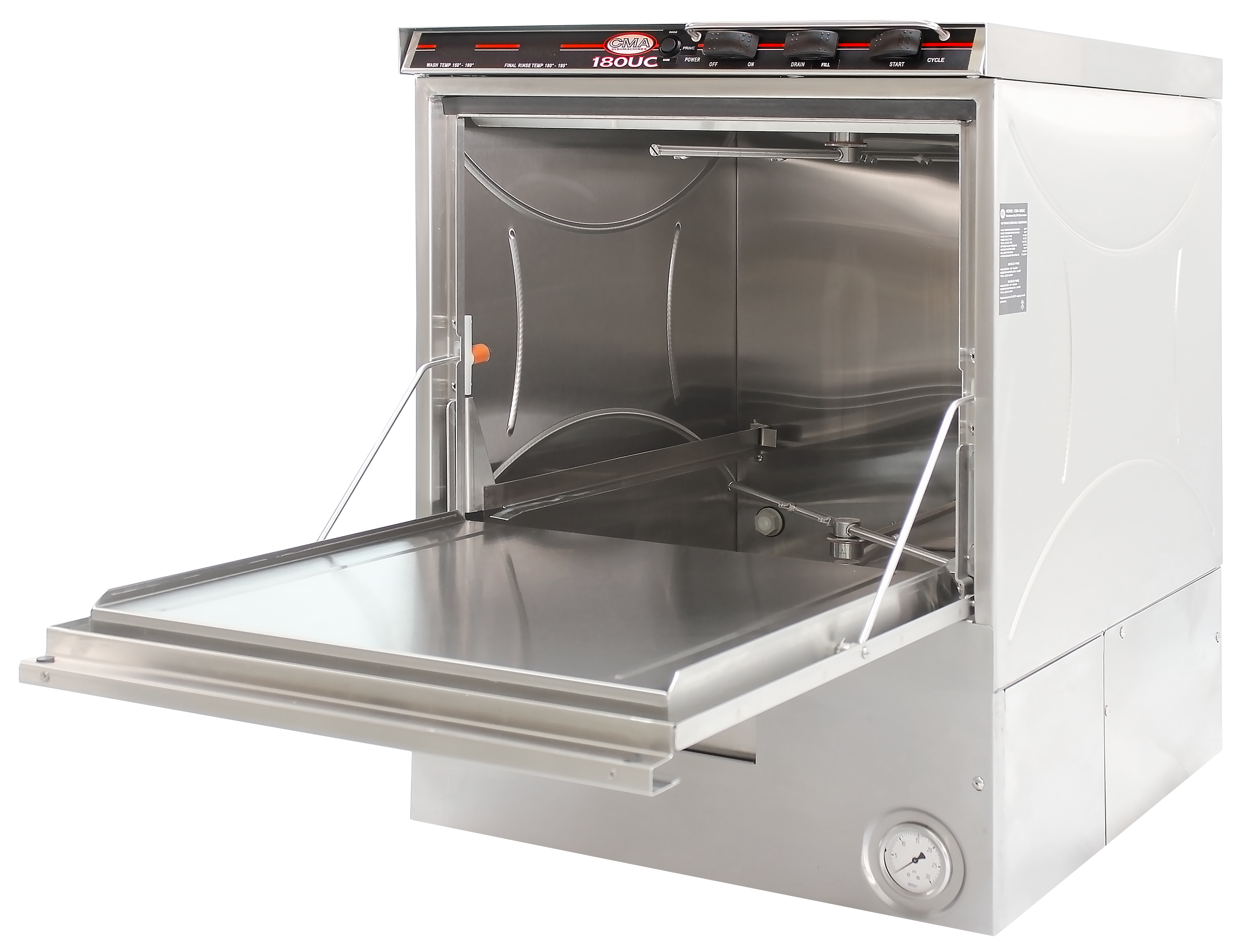 CMA Dishmachines 180UC dishwasher, undercounter