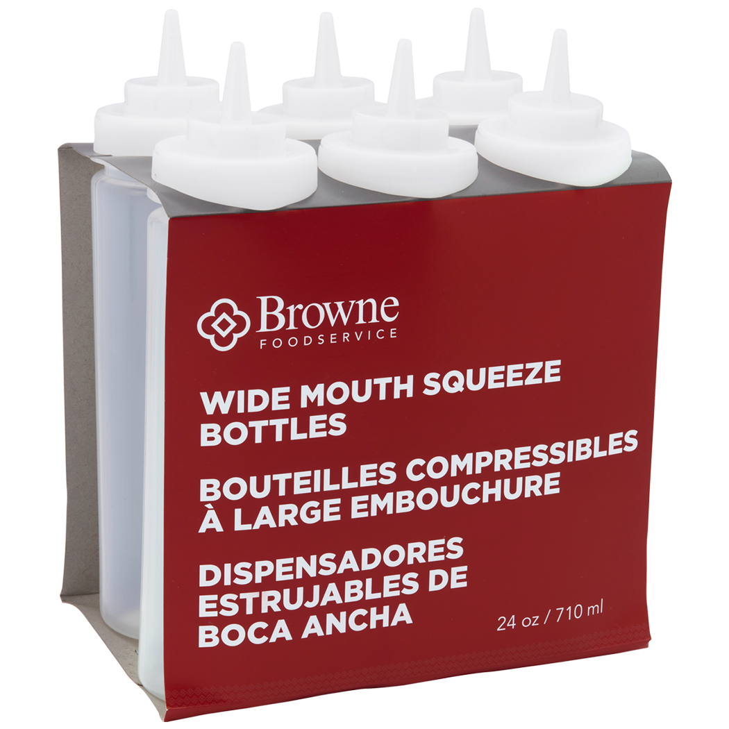 Browne Foodservice 57802500 tabletop accessories - squeeze bottles