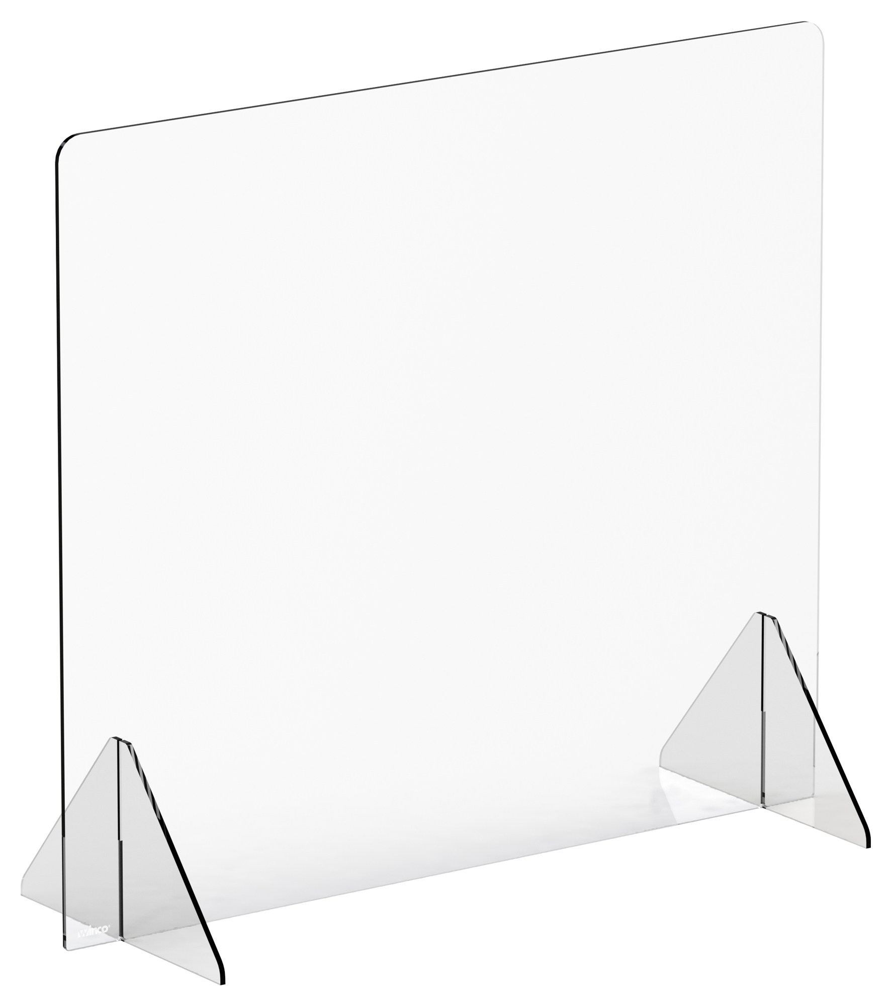 Winco ACSS-3632 clear safety shield
