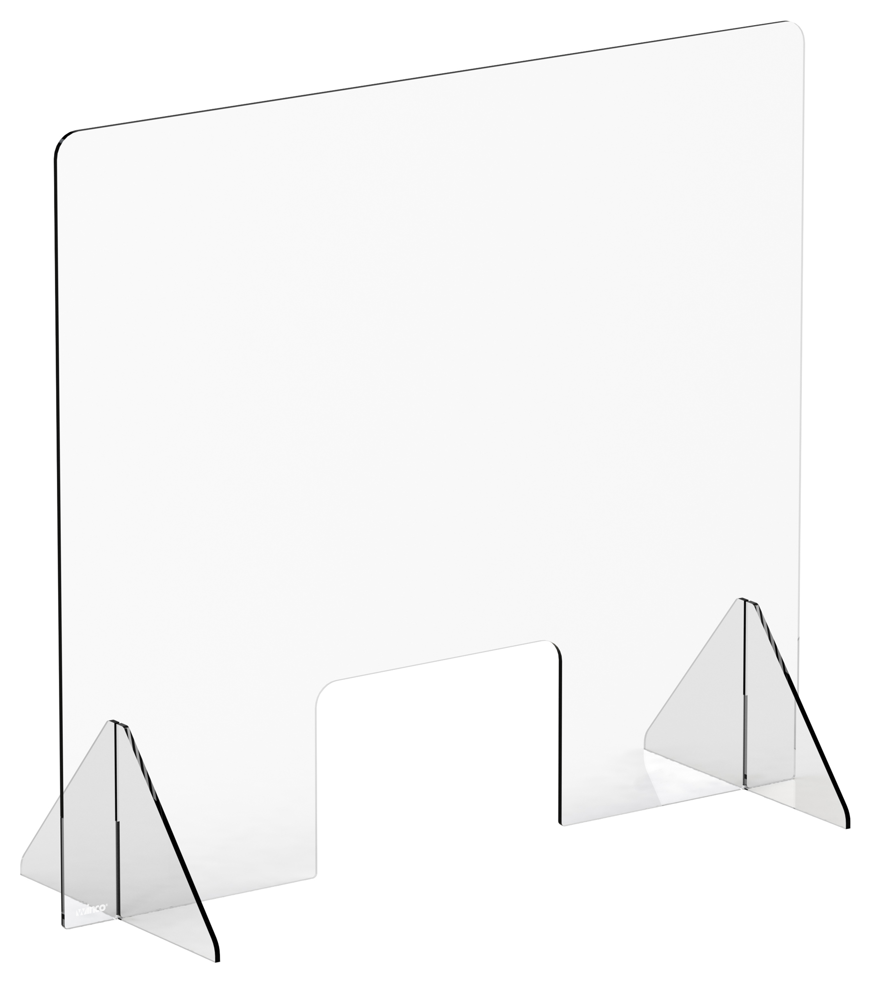 Winco ACSS-3632W clear safety shield