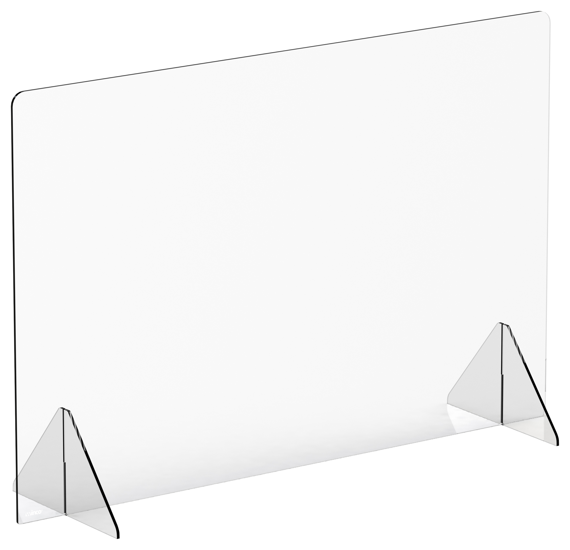 Winco ACSS-4832 clear safety shield