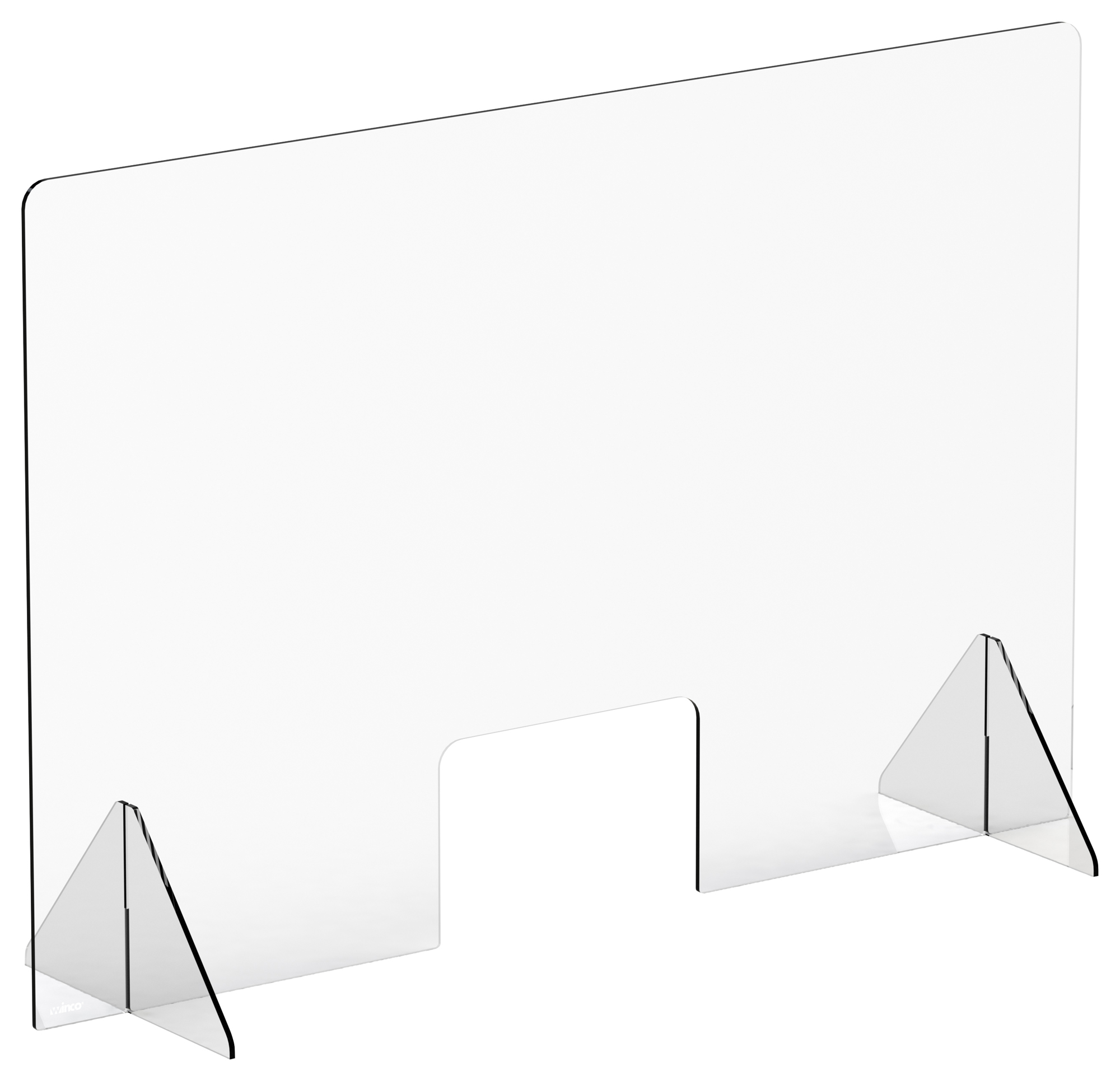 Winco ACSS-4832W clear safety shield