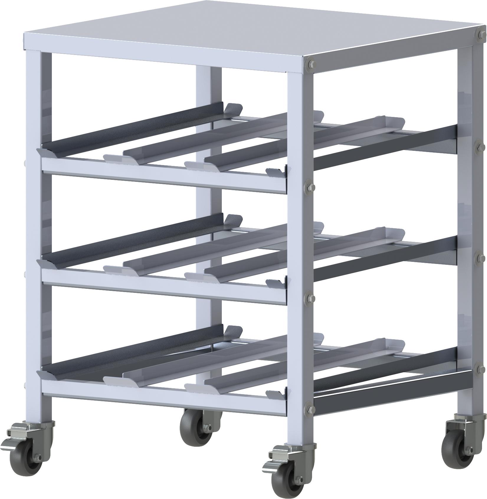 Winco ALCR-3M can storage rack