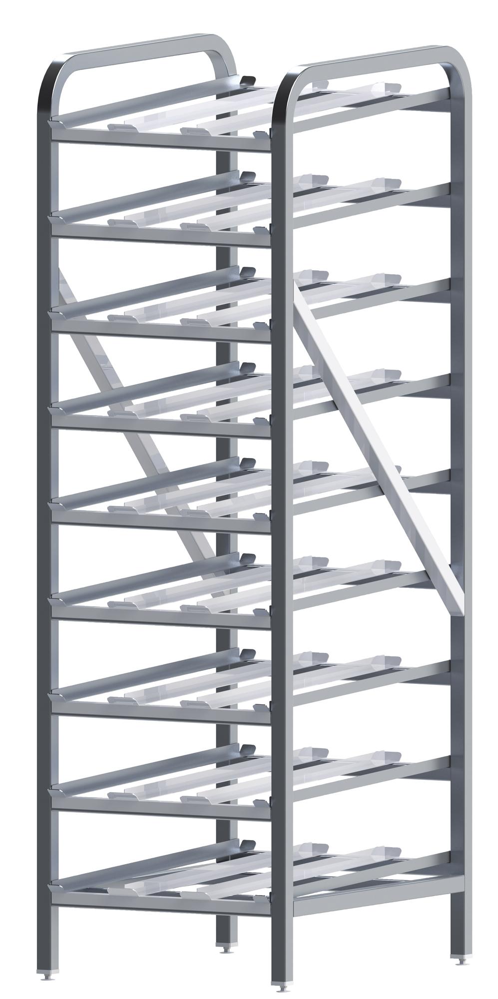 Winco ALCR-9 can storage racks