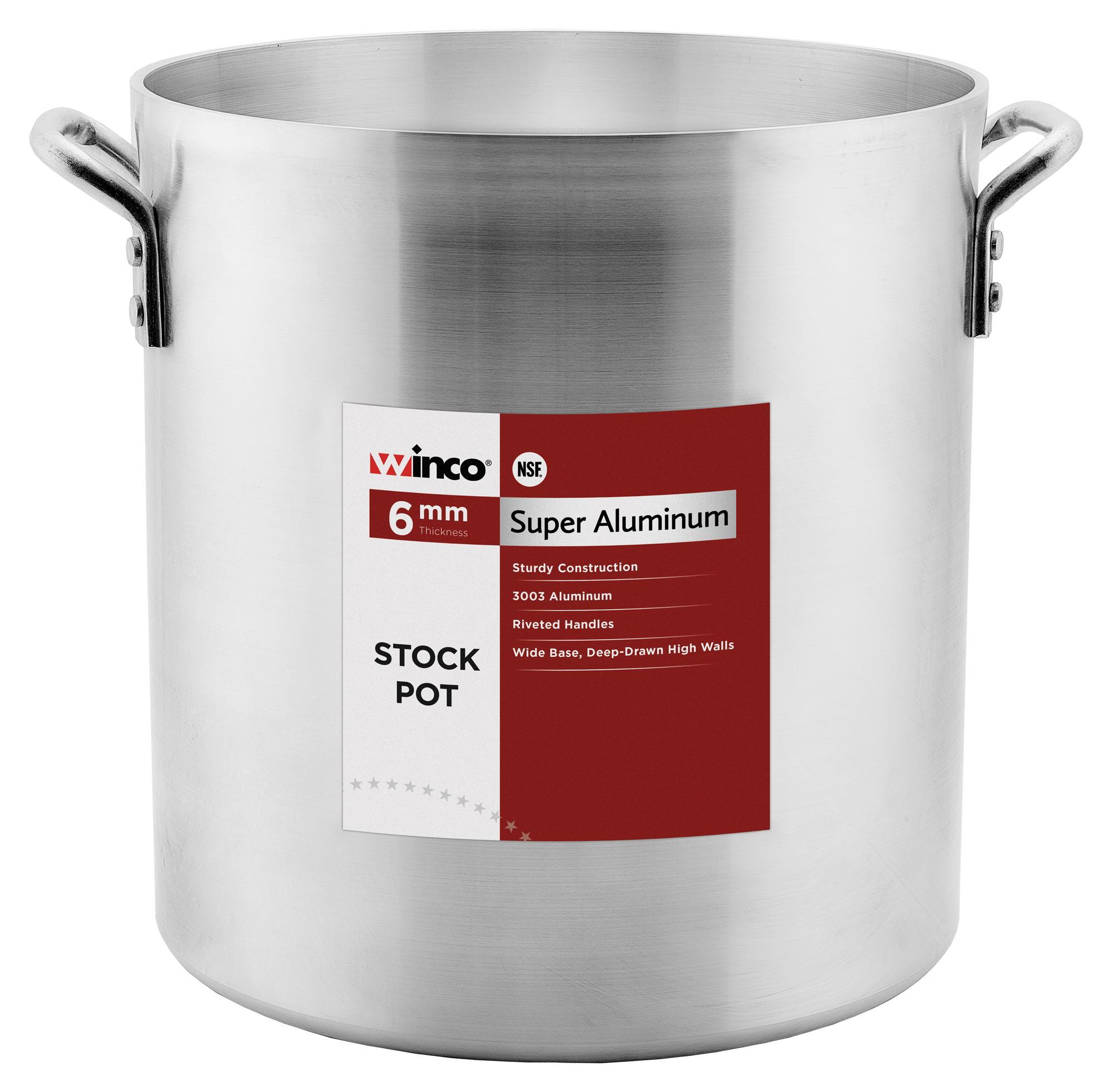 Winco AXHH-120 stock pot
