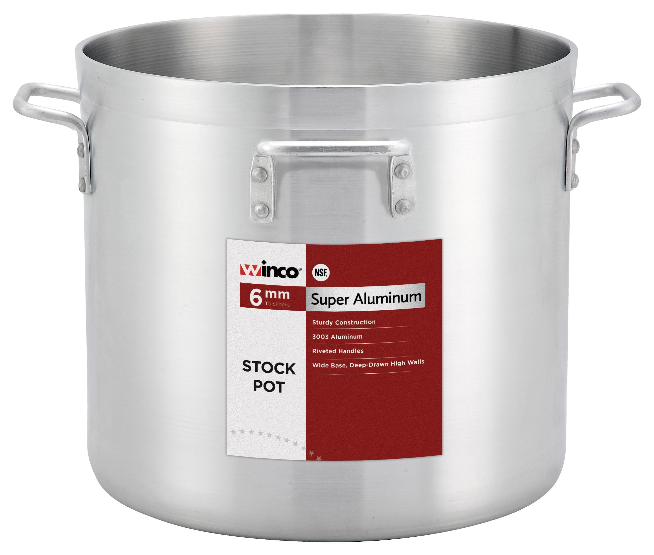 Winco AXHH-120H stock pot