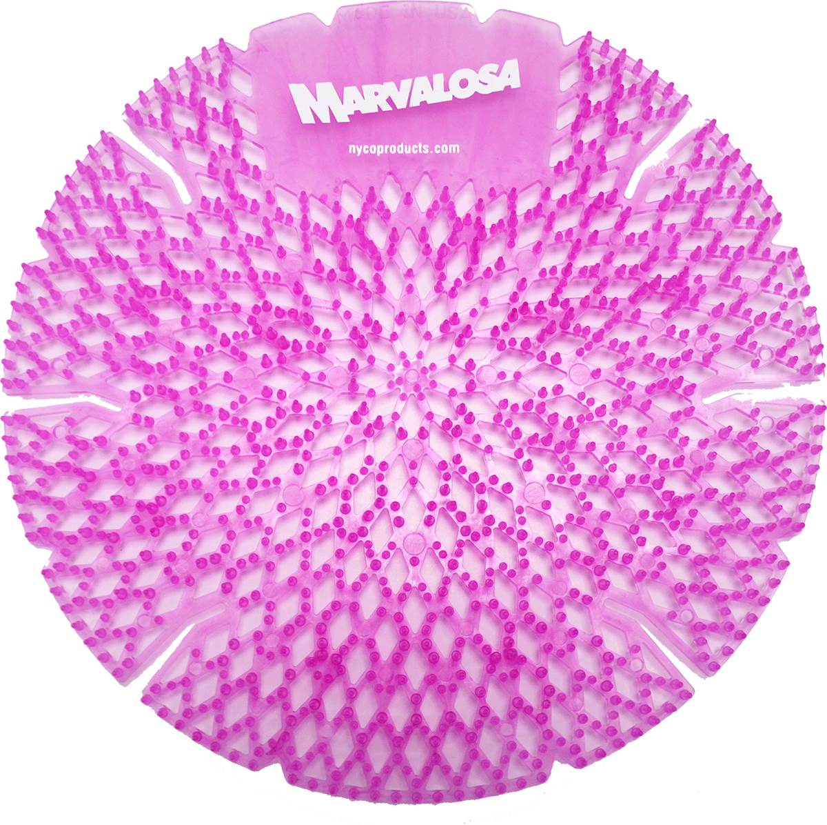 Nyco BD-276-10 odor control urinal screen - tropical breeze scent
