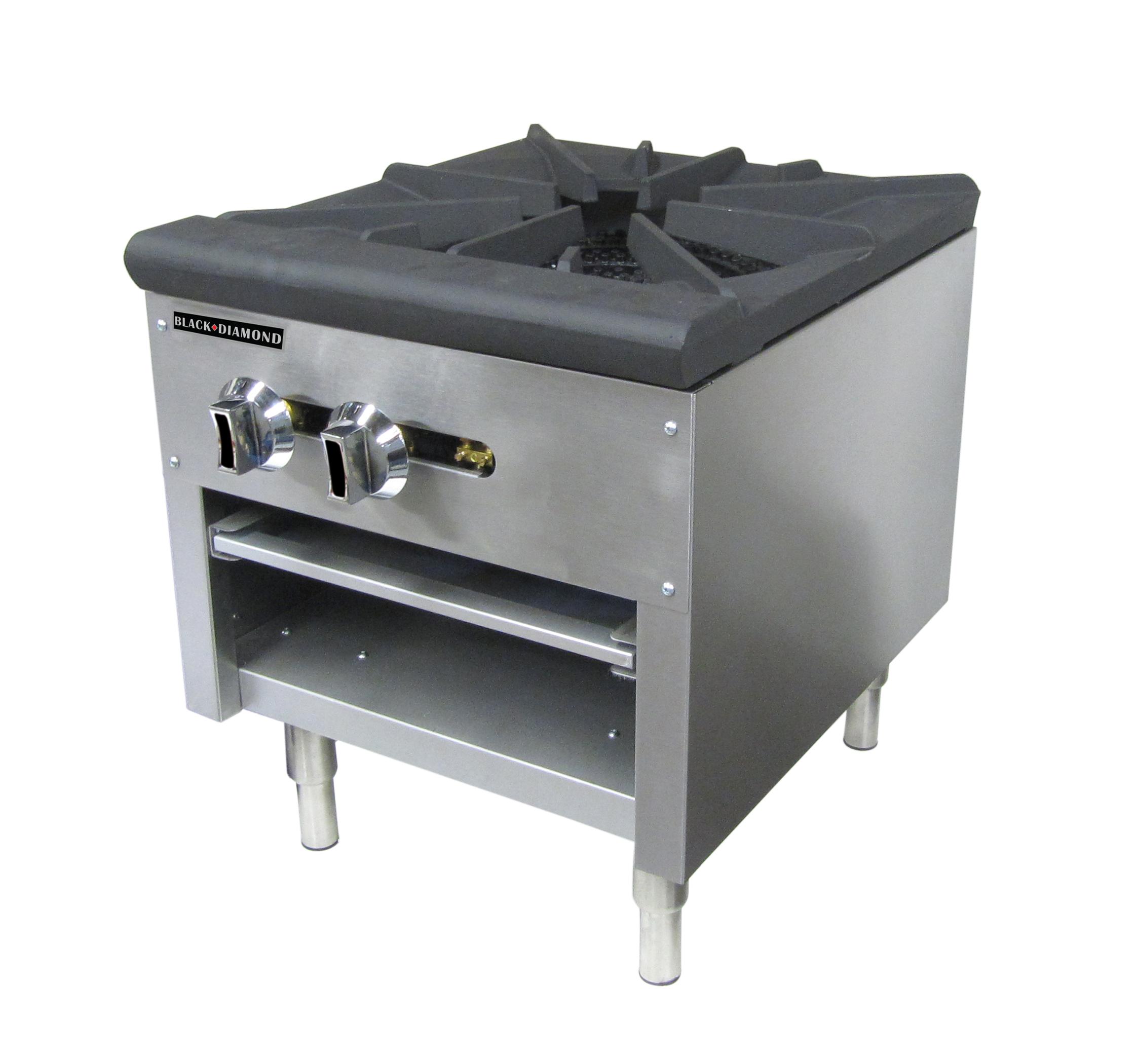 Admiral Craft BDCTSP-1/NG gas pot burner