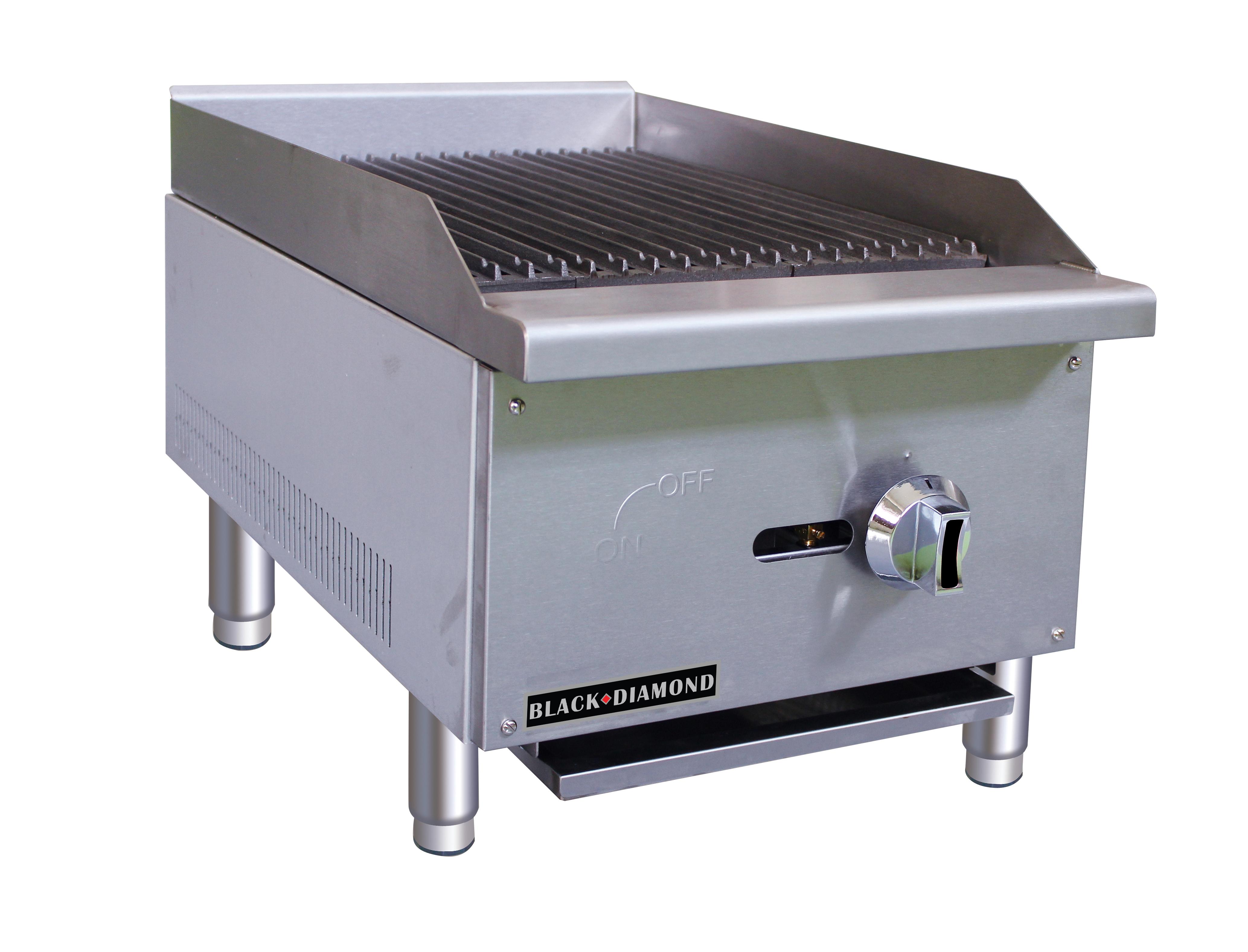 Admiral Craft BDECTC-16/NG gas charbroiler