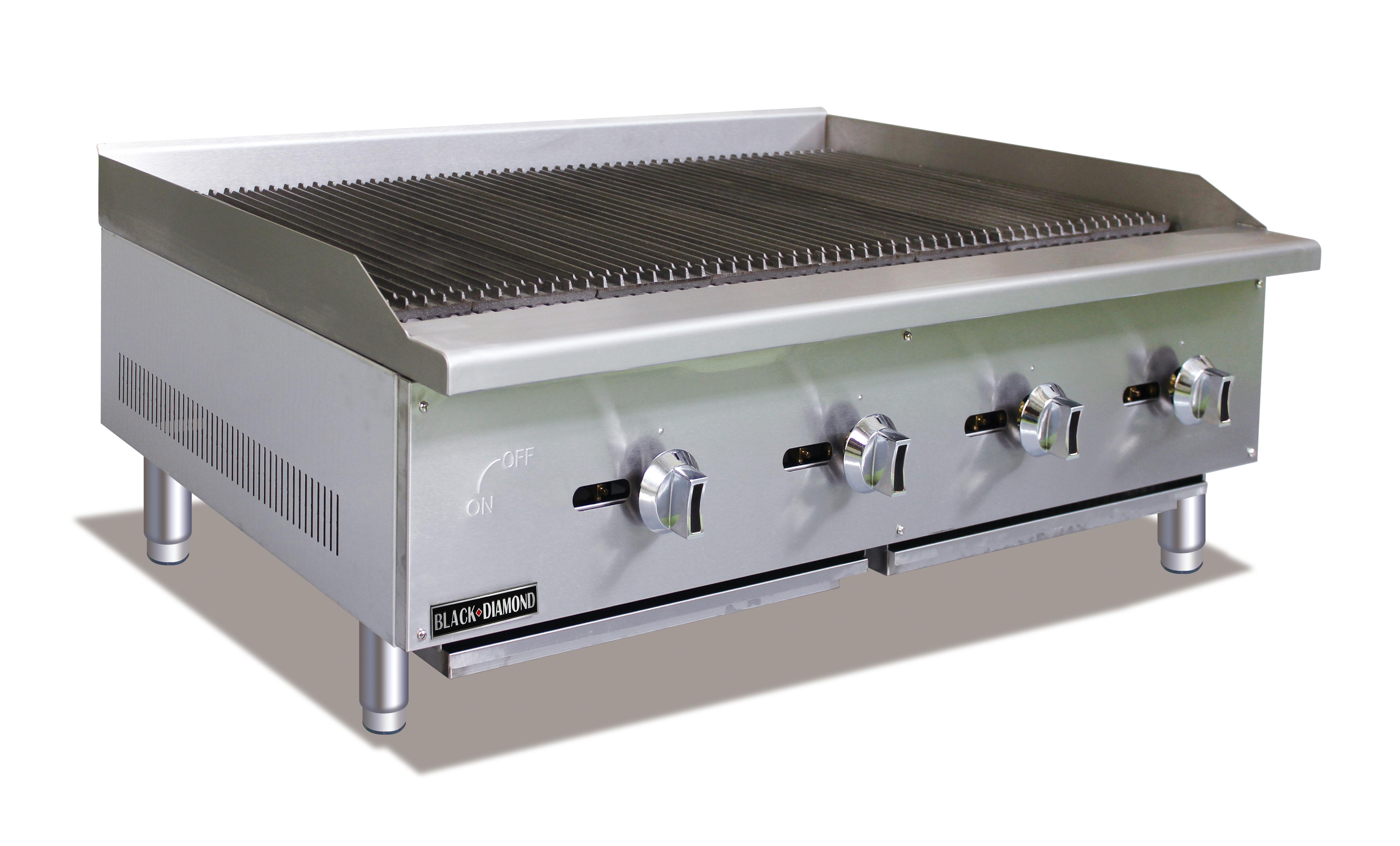 Admiral Craft BDECTC-48/NG gas charbroiler