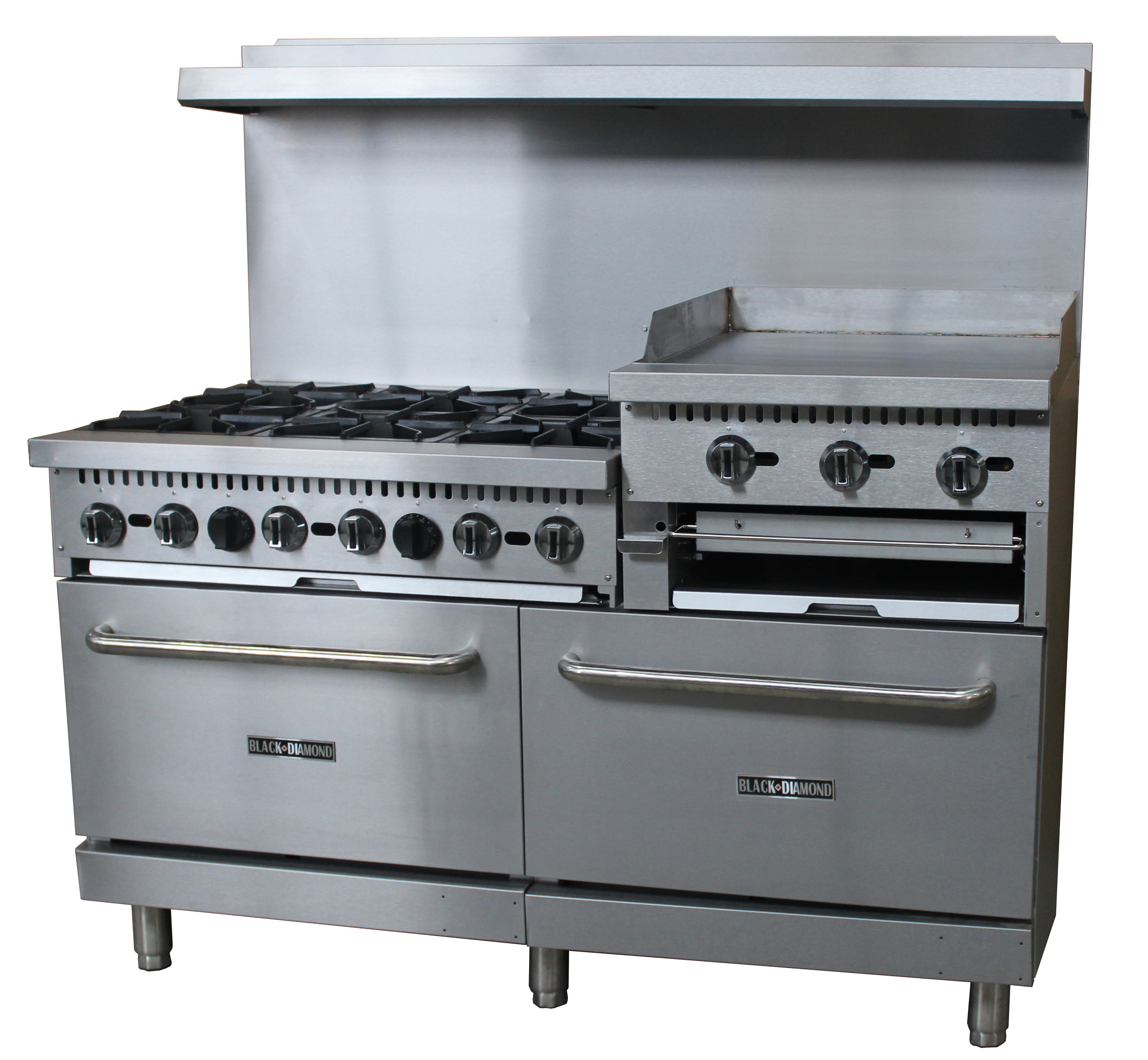 Adcraft (Admiral Craft Equipment) BDGR-6024GB/NG gas range