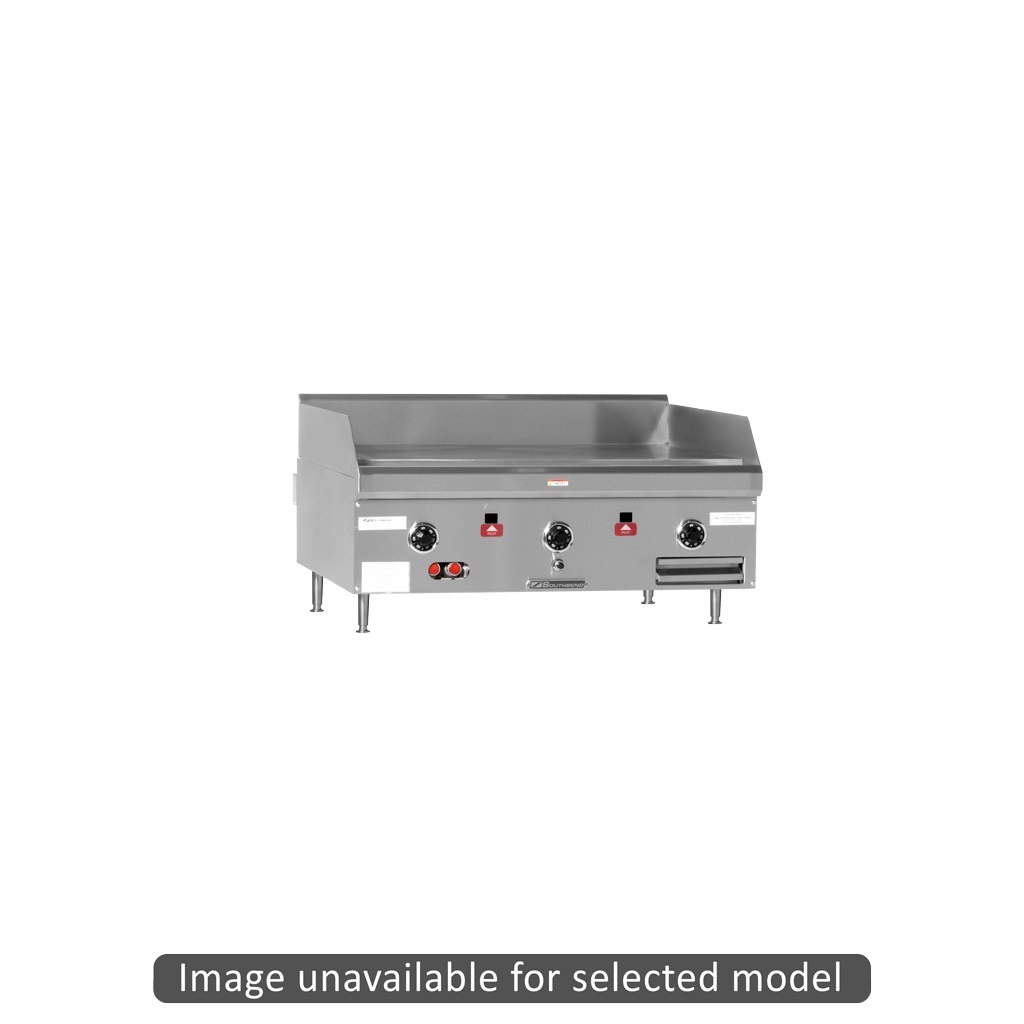 Southbend HDG-72V heavy duty counterline griddle thermostatic