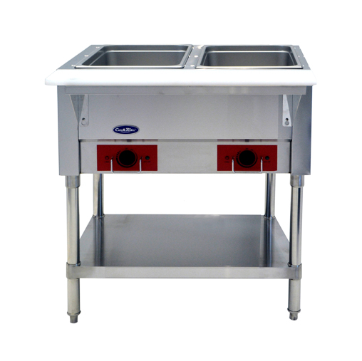 Atosa USA CSTEA-2C electric hot food table, 2 wells