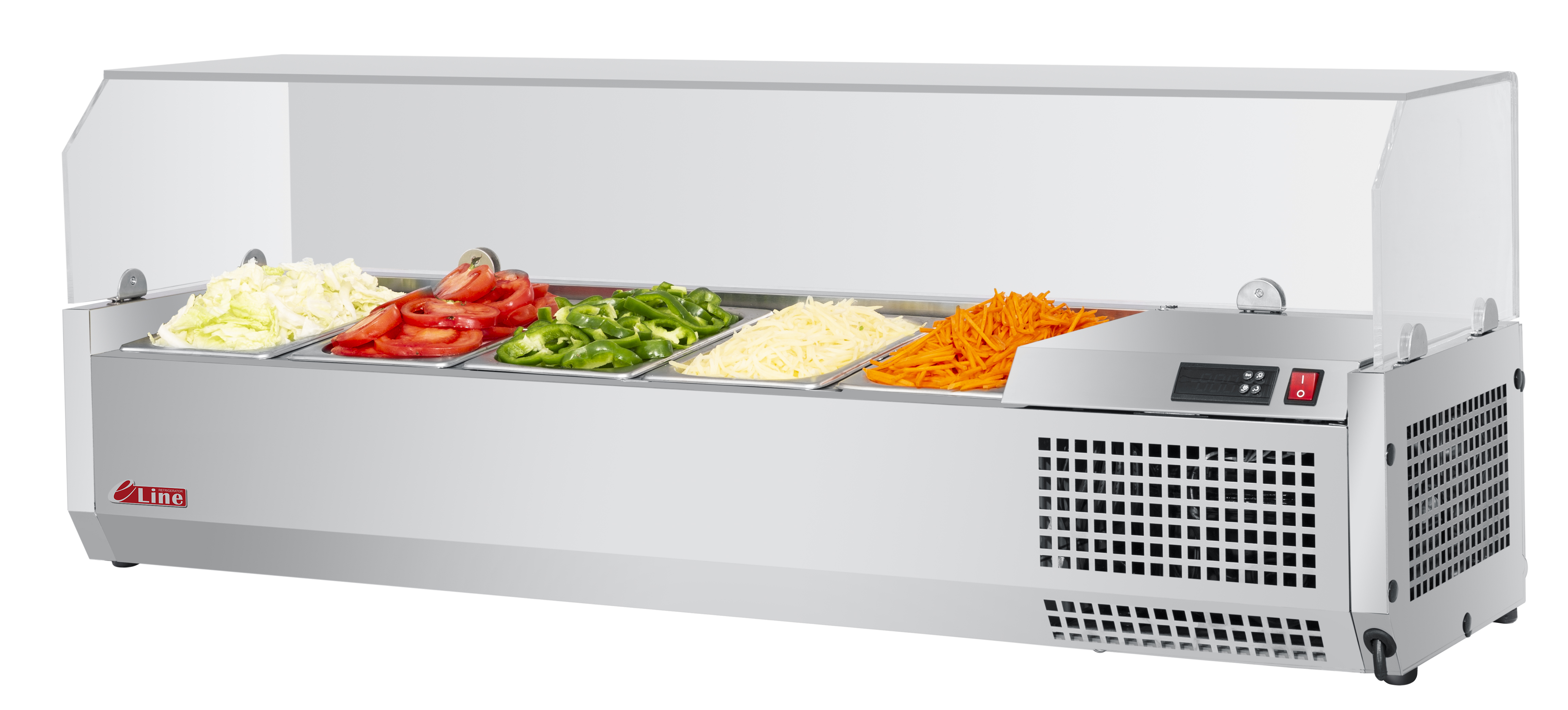 Turbo Air CTST-1200G-N counter top salad table