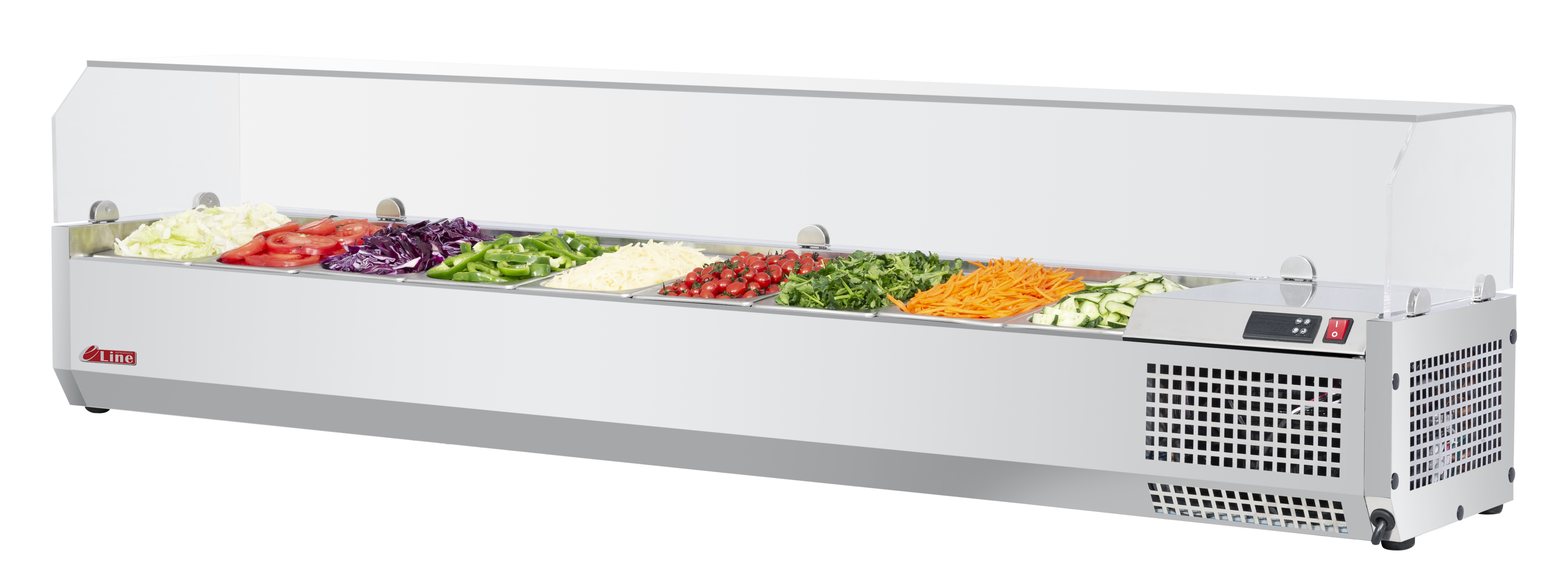 Turbo Air CTST-1800G-N counter top salad table