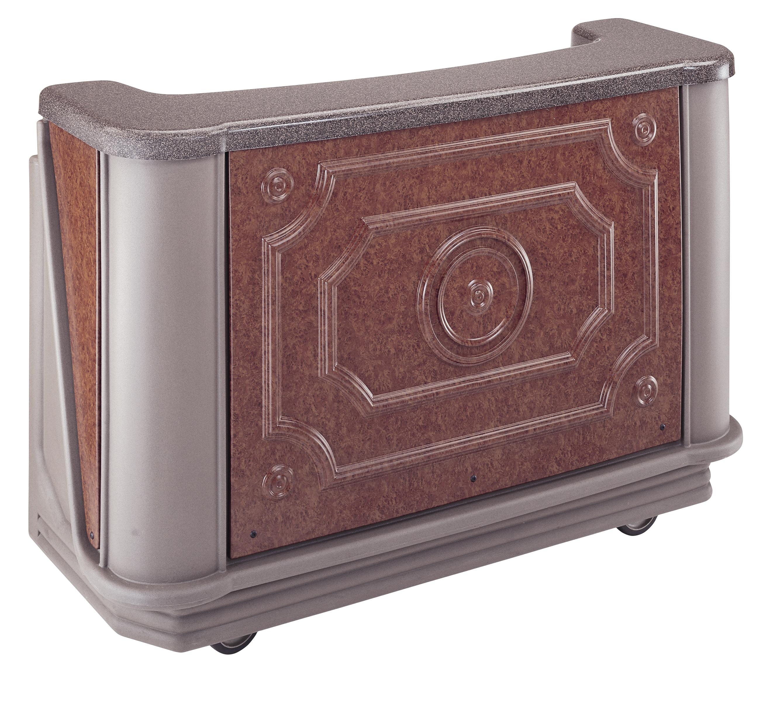 Cambro BAR650DSPMT2669 portable bar
