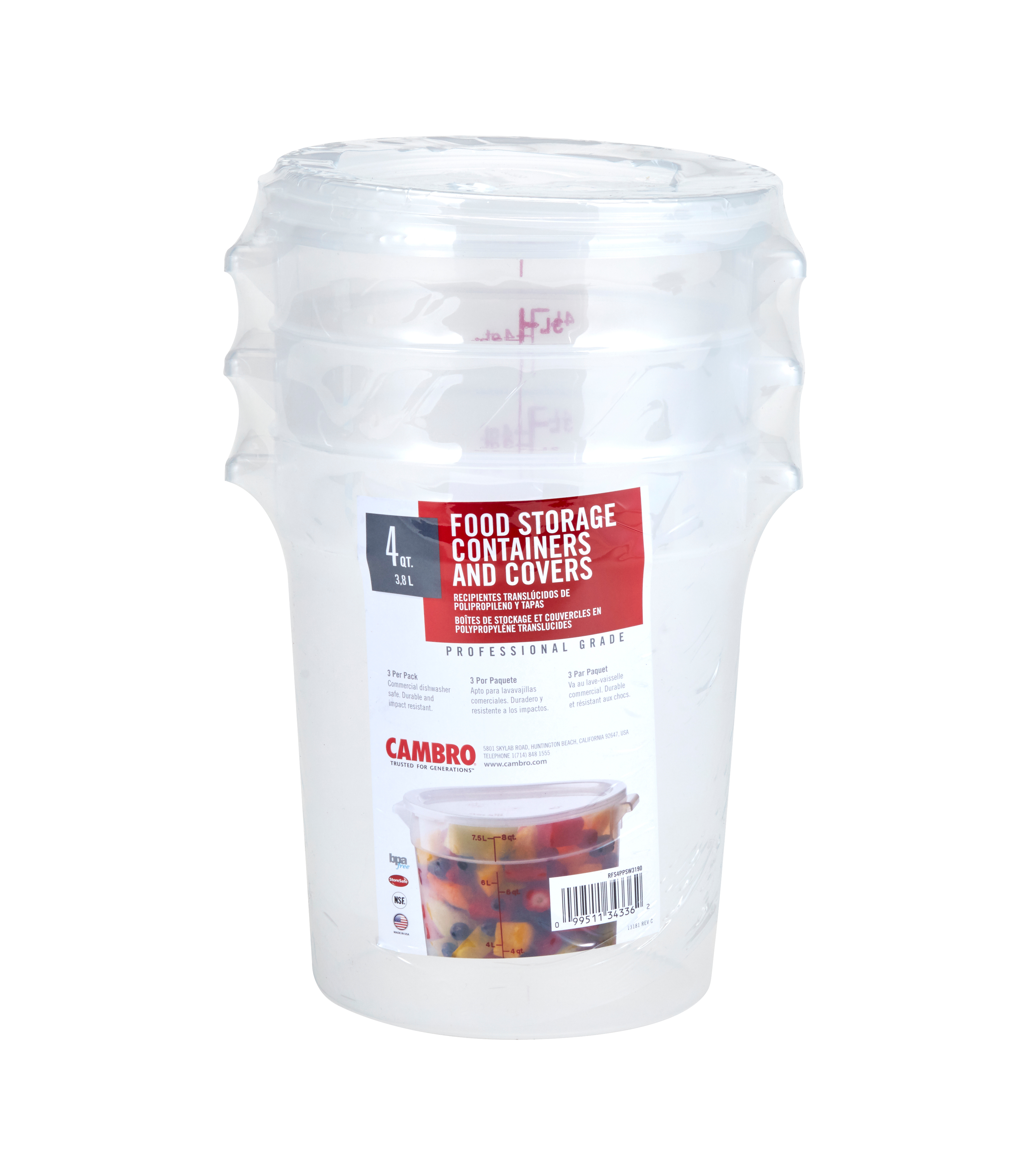 Cambro RFS4PPSW3190 food/beverage storage container