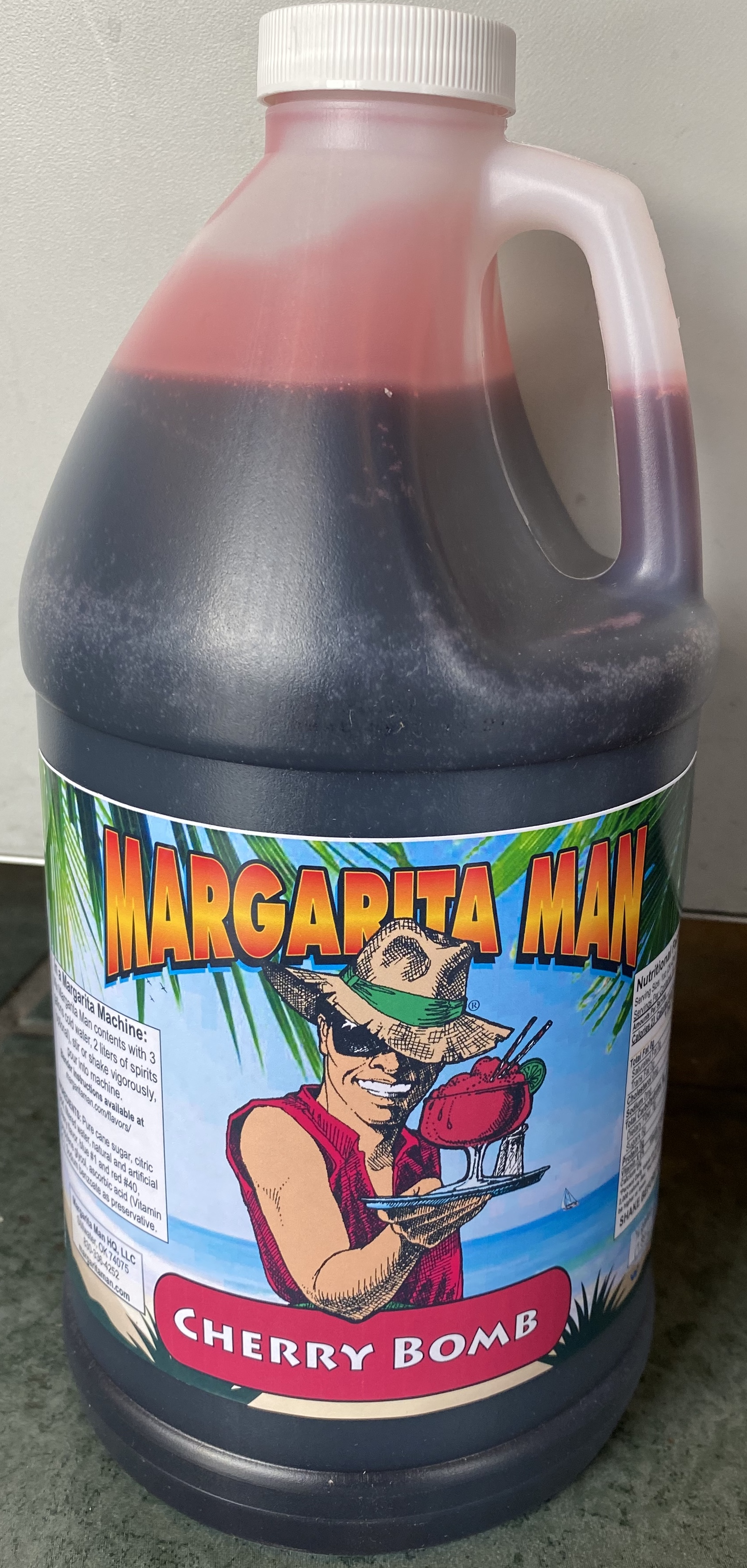 Margarita Man Mrg12 Cherry Bomb Concentrate
