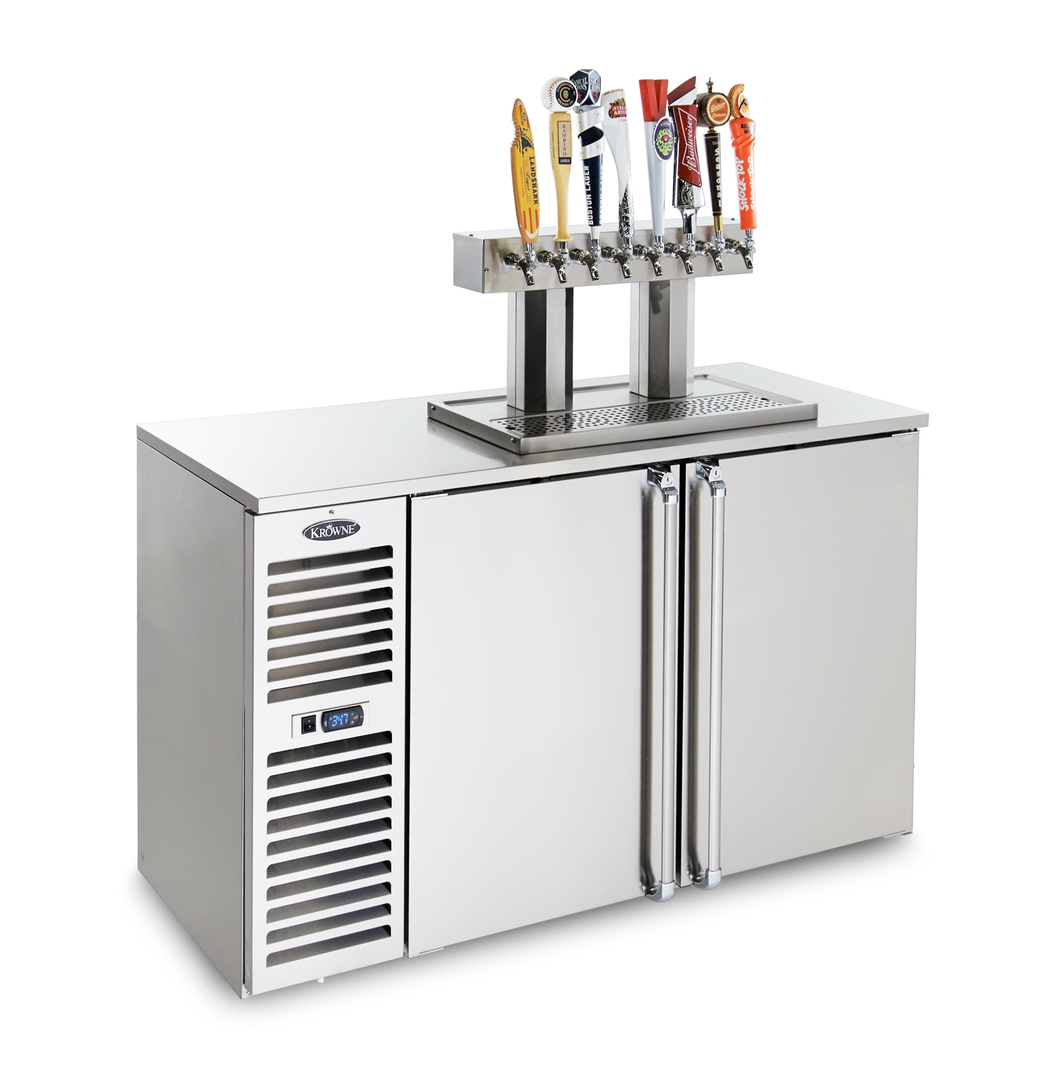 Krowne Metal DB60 draft beer cooler