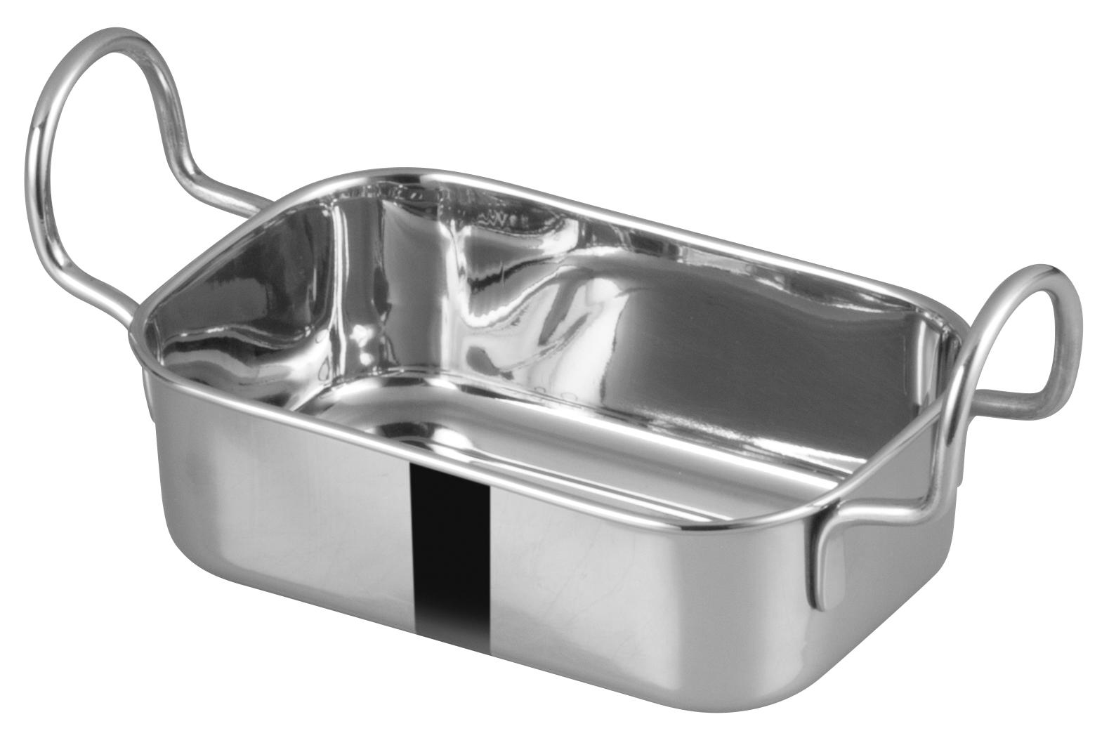 Winco DDSB-104S roasting pan