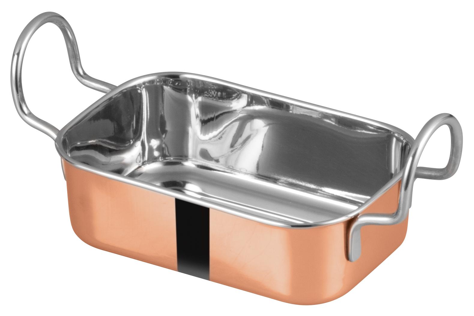 Winco DDSB-203C roasting pan