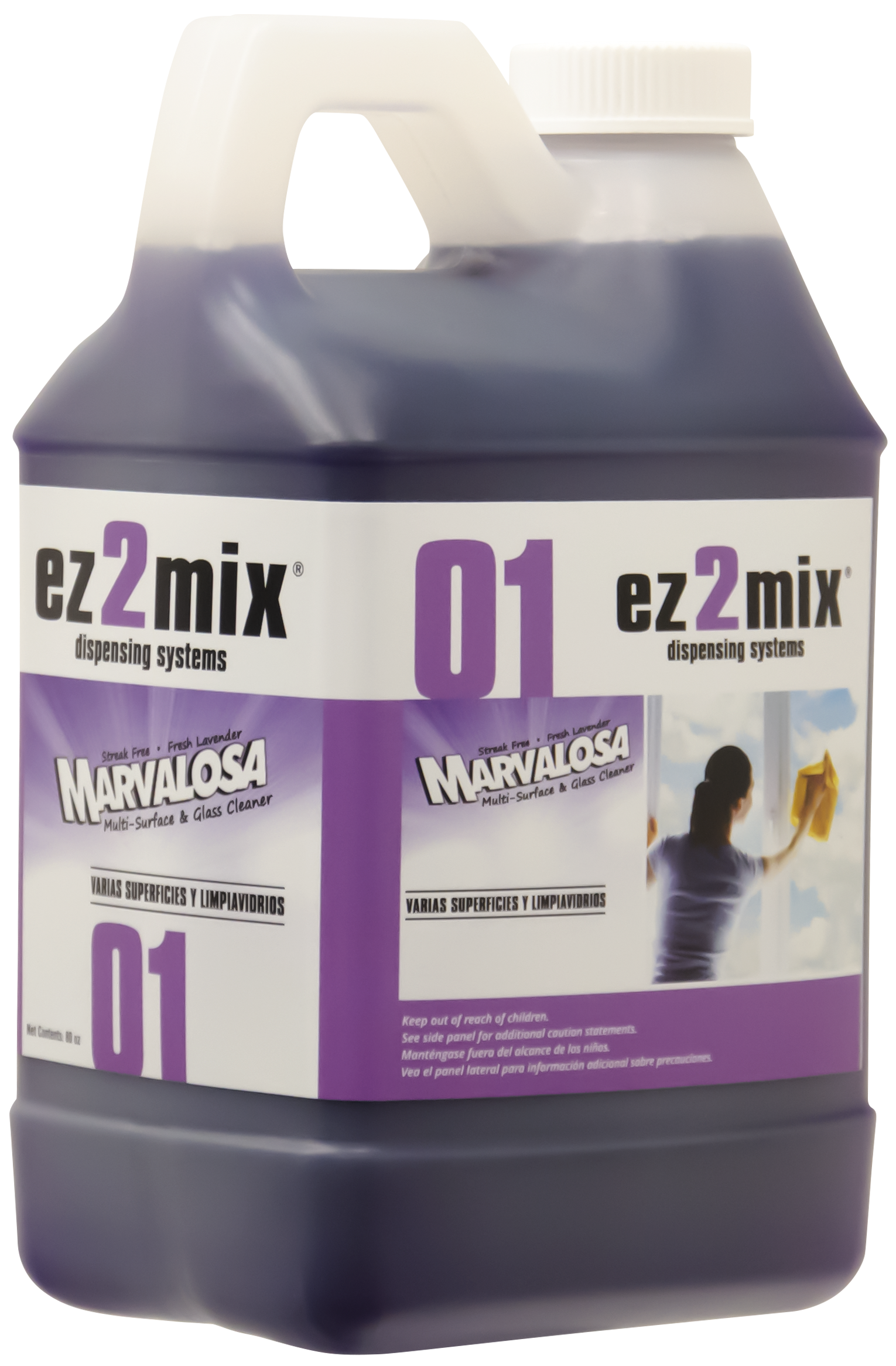 Nyco EZ001-480 multi-surface & glass cleaner