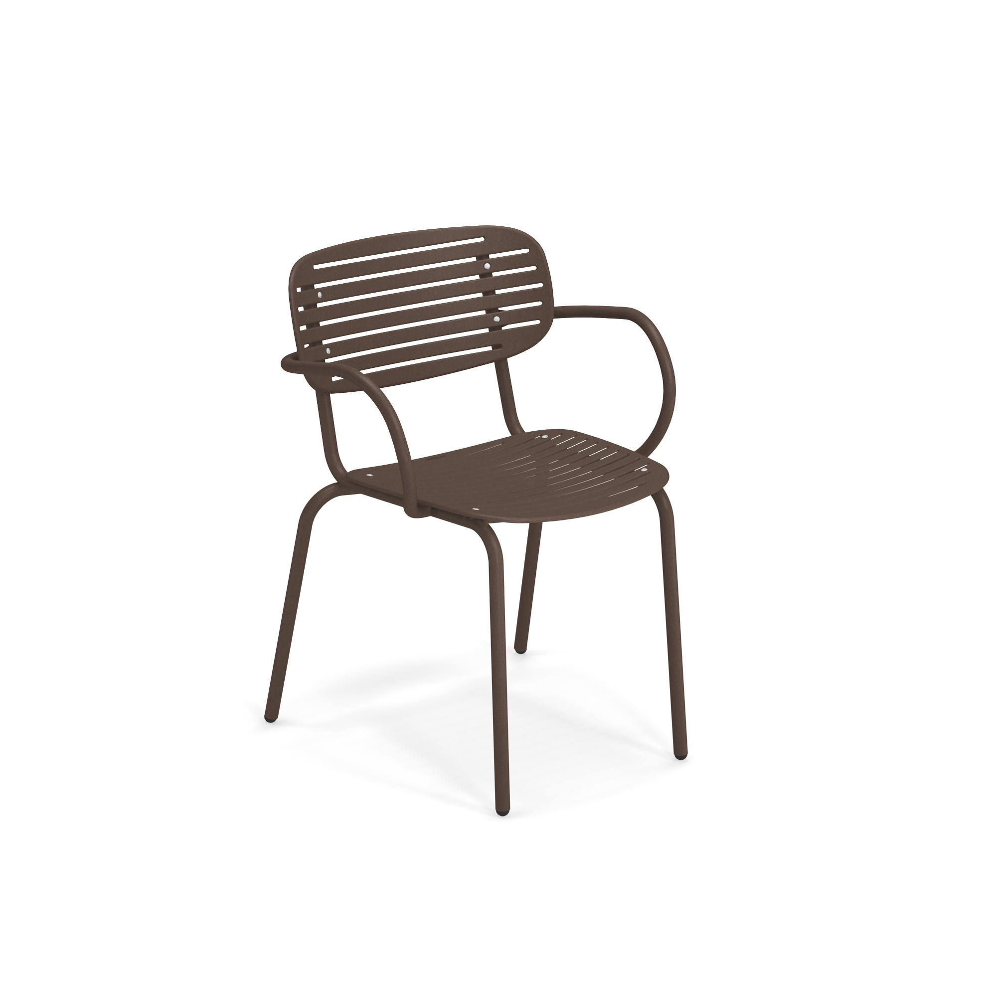 emuamericas, llc 640-41 chair, armchair, stacking, outdoor