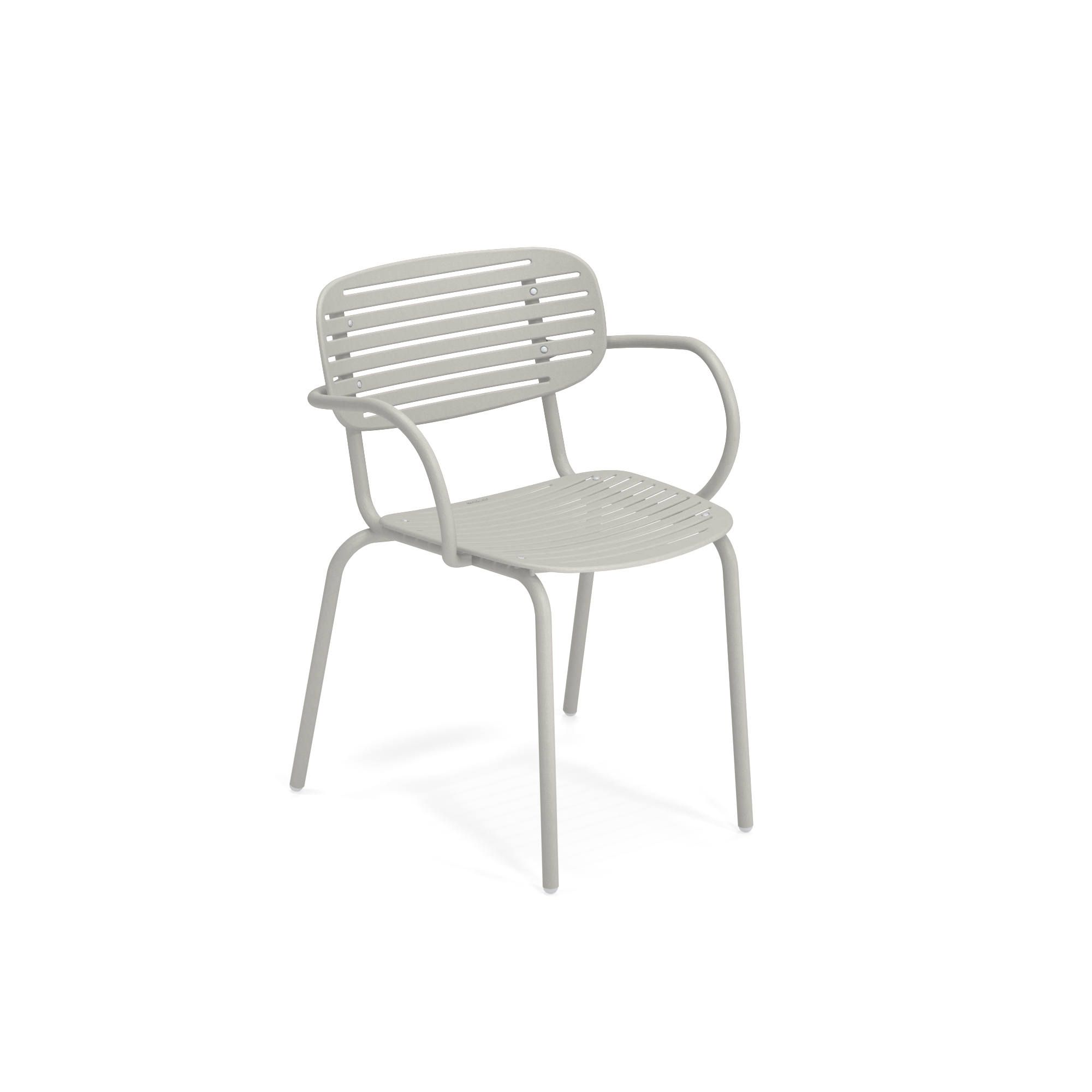 emuamericas, llc 640-73 chair, armchair, stacking, outdoor