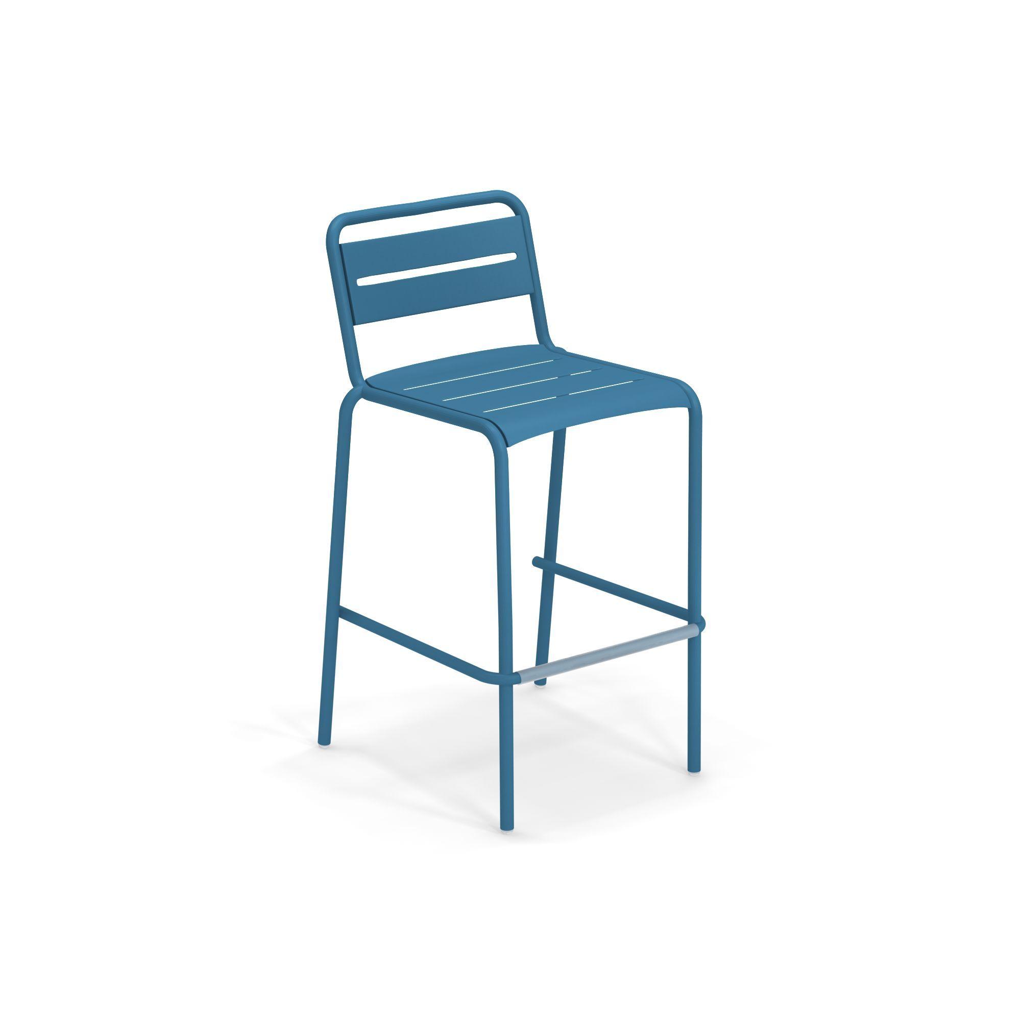 emuamericas, llc 164-61 bar stool, stacking, outdoor