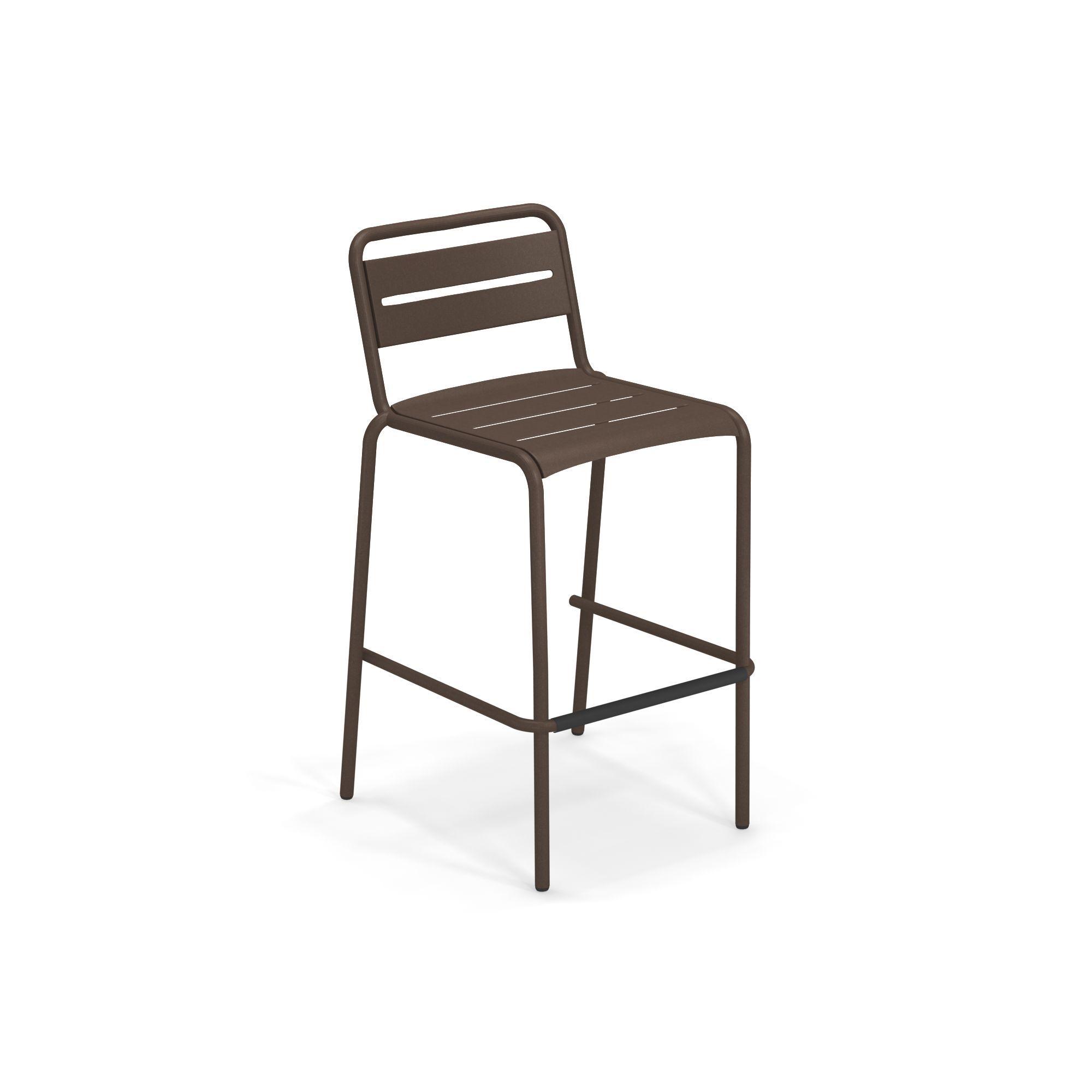 emuamericas, llc 164-41 bar stool, stacking, outdoor