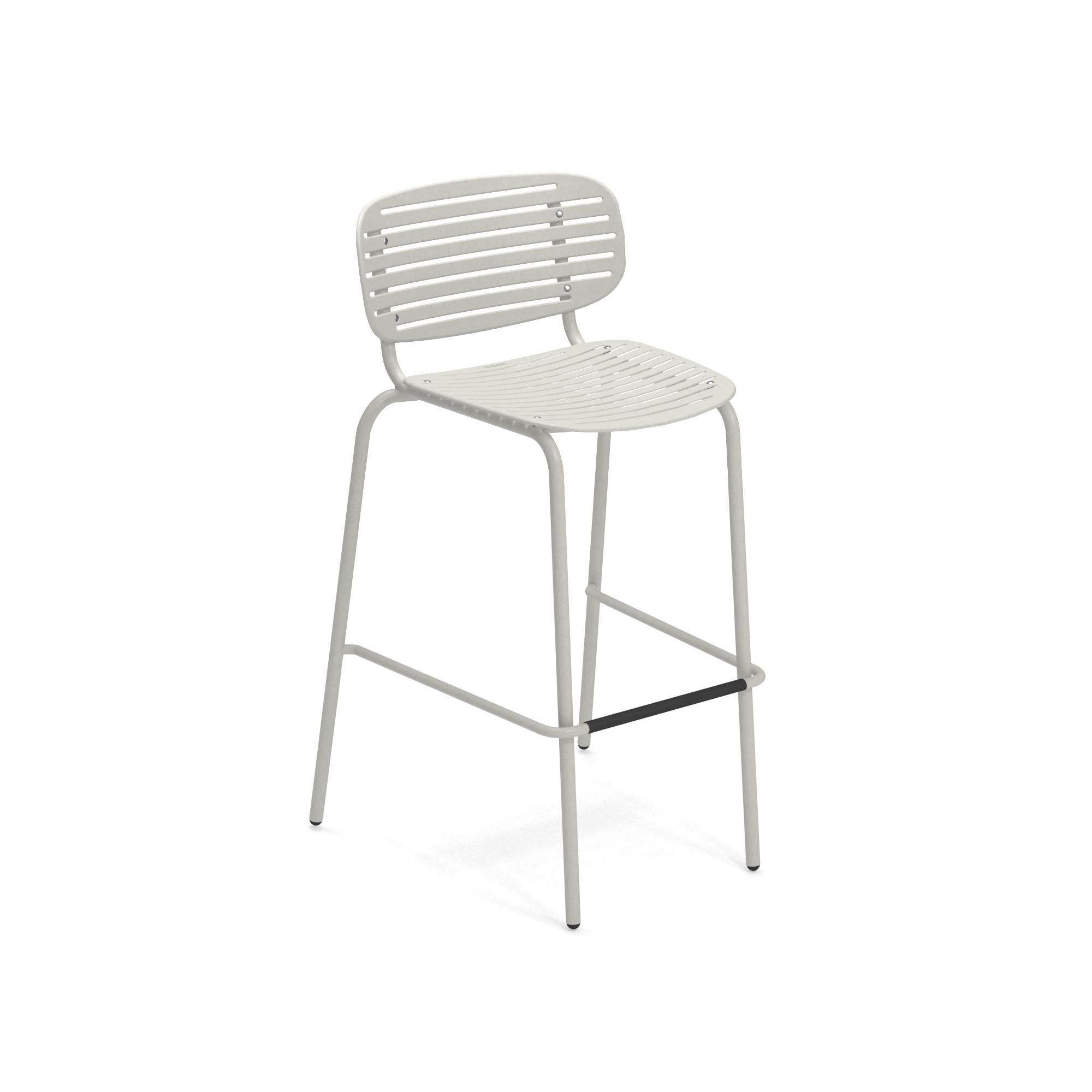 emuamericas, llc 649-73 bar stool, stacking, outdoor