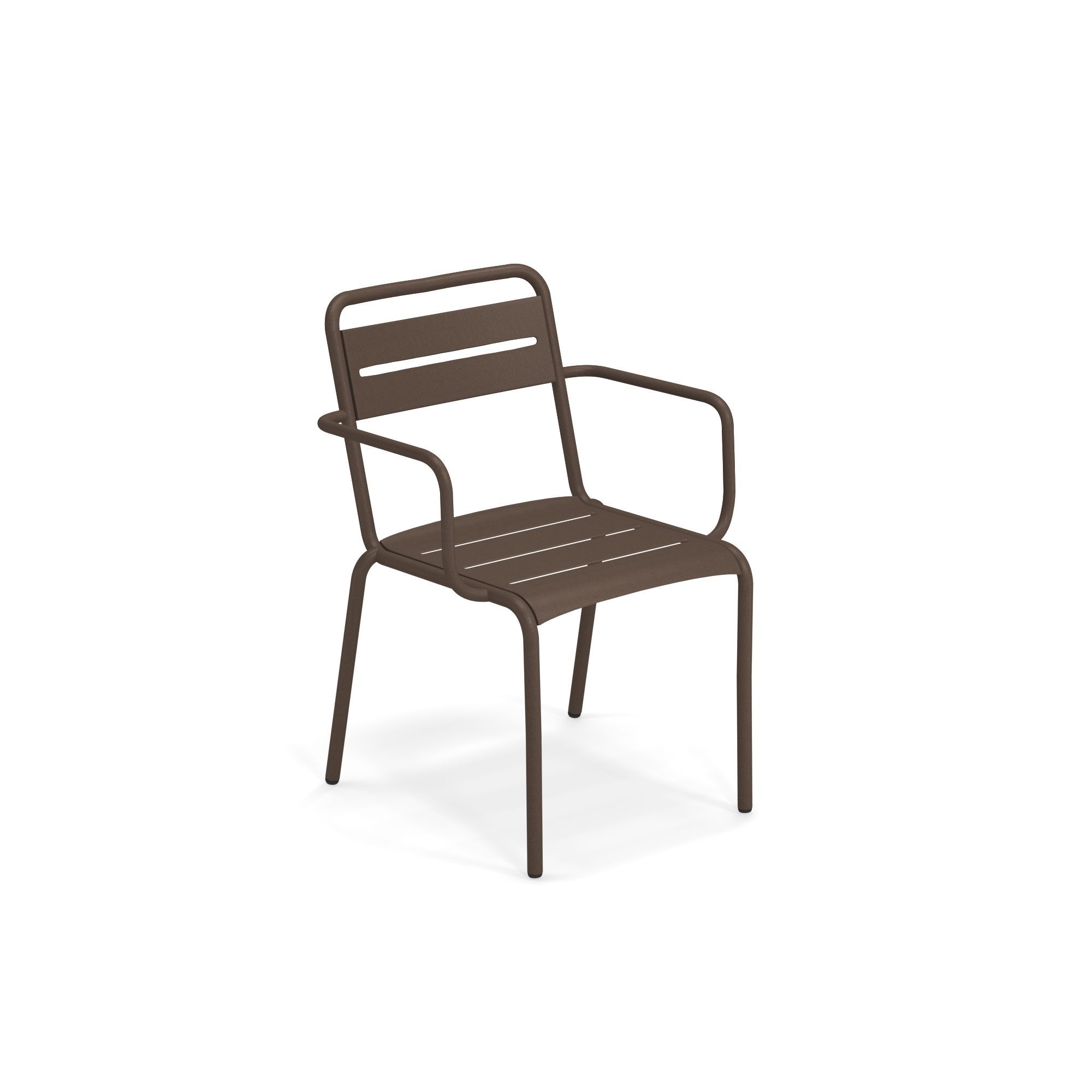 emuamericas, llc 162-41 chair, armchair, stacking, outdoor