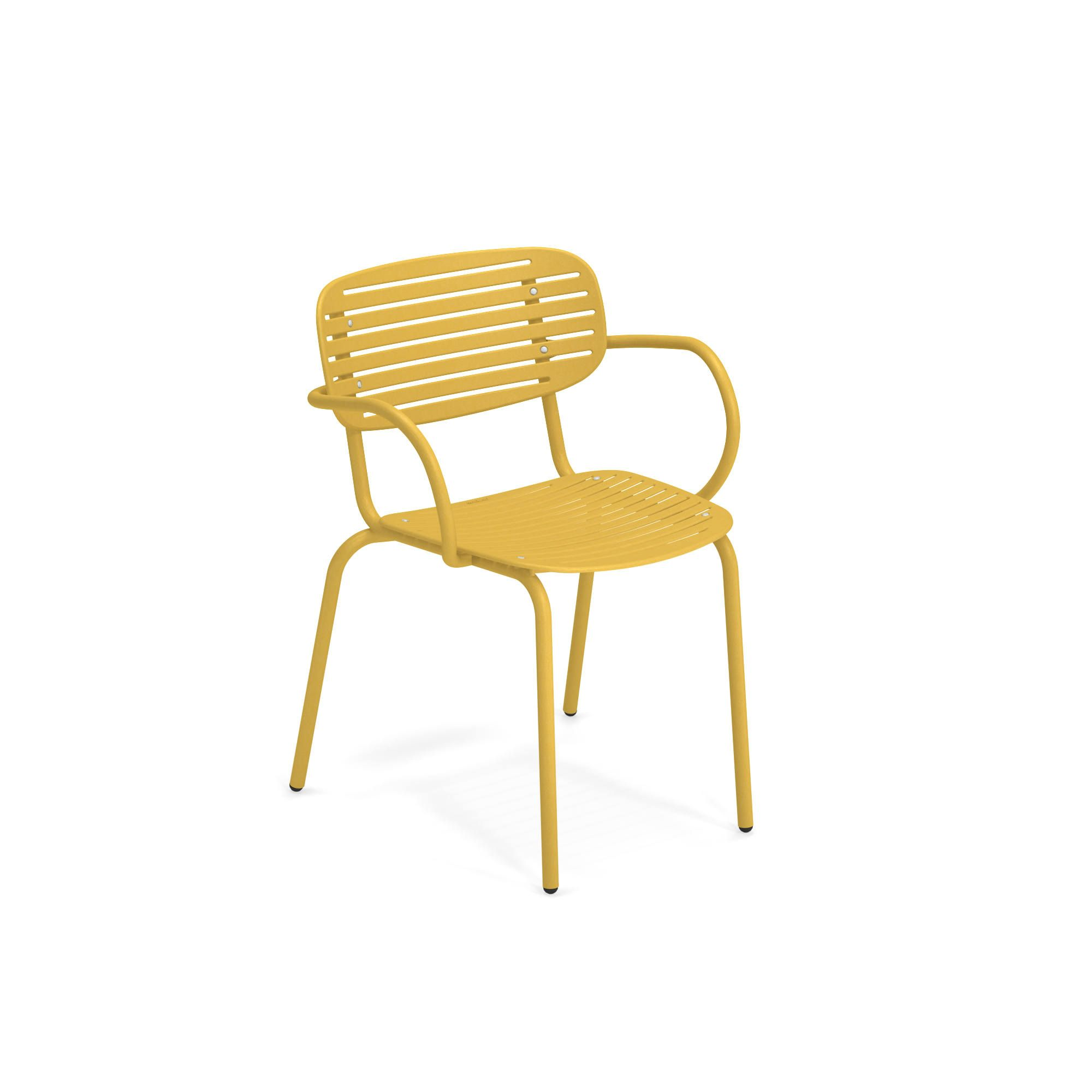 emuamericas, llc 640-62 chair, armchair, stacking, outdoor
