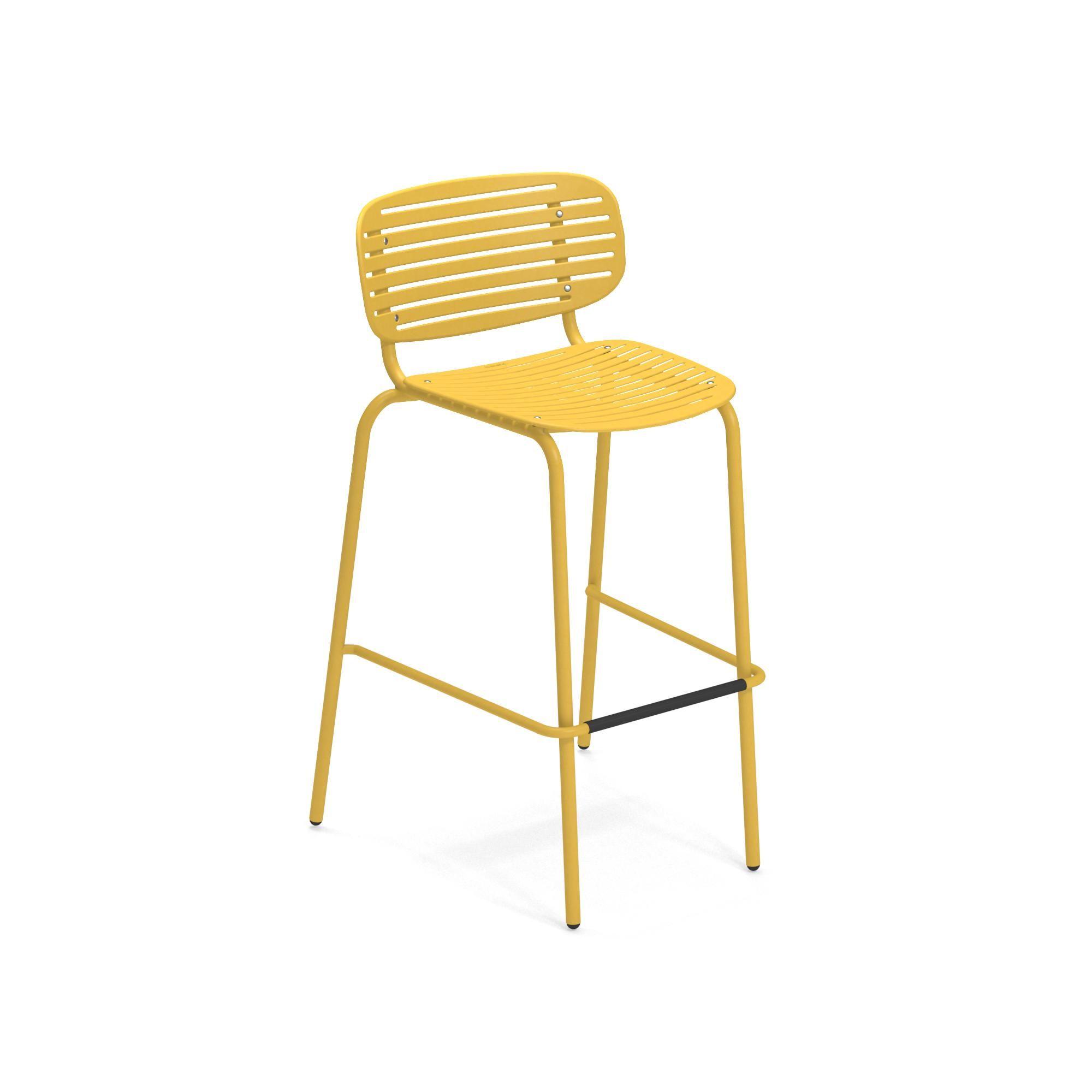 emuamericas, llc 649-62 bar stool, stacking, outdoor