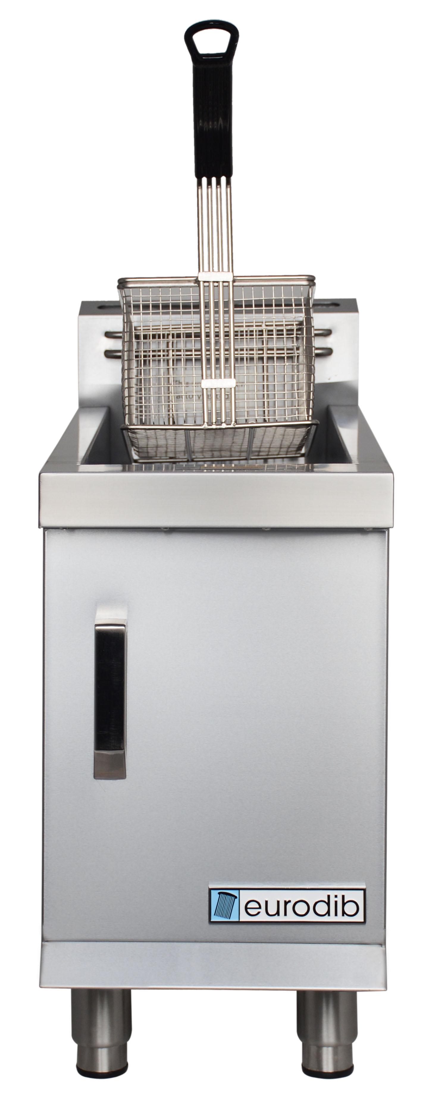 Eurodib USA T-CF30 L single countertop gas fryer