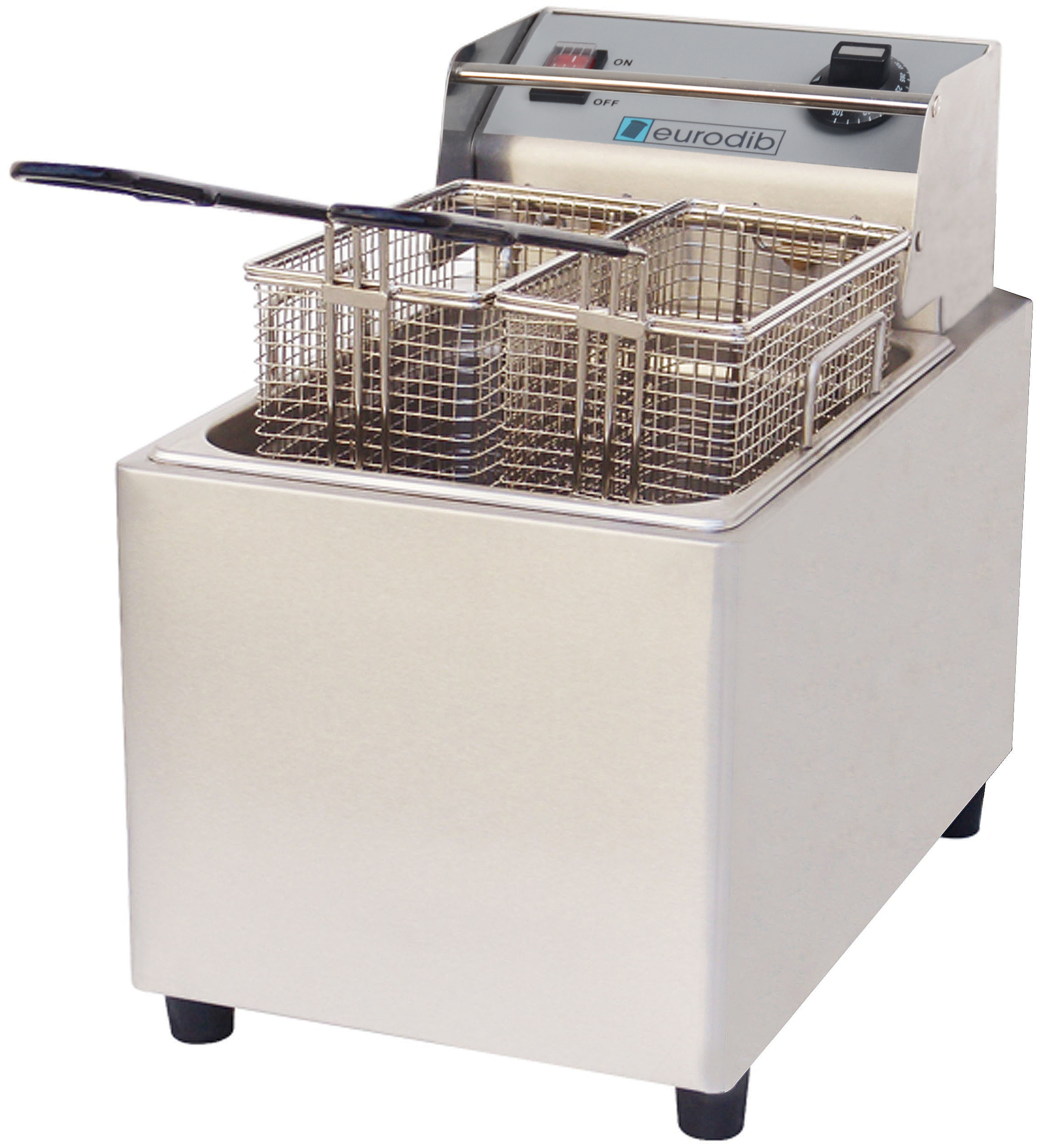 Eurodib USA SFE01860D single electric countertop fryer
