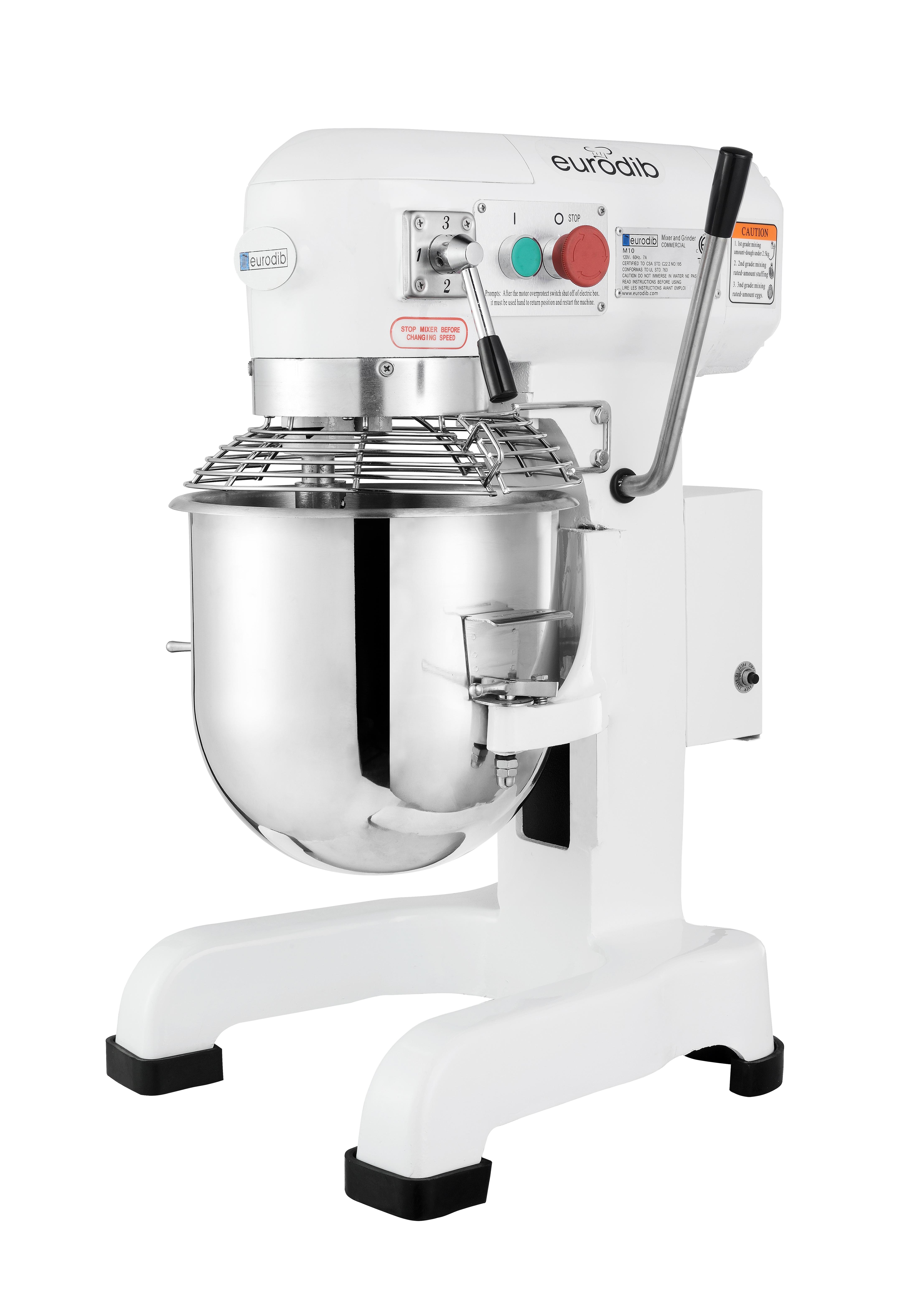 Eurodib USA NM10A-47 planetary & spiral mixers - accessories
