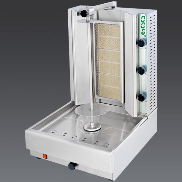 Eurodib USA DG6A N gyro machines & vertical broilers