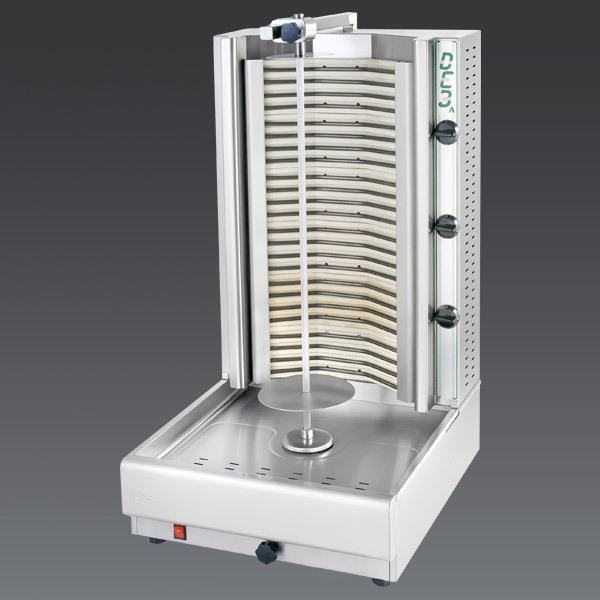 Eurodib USA DE3A gyro machines & vertical broilers