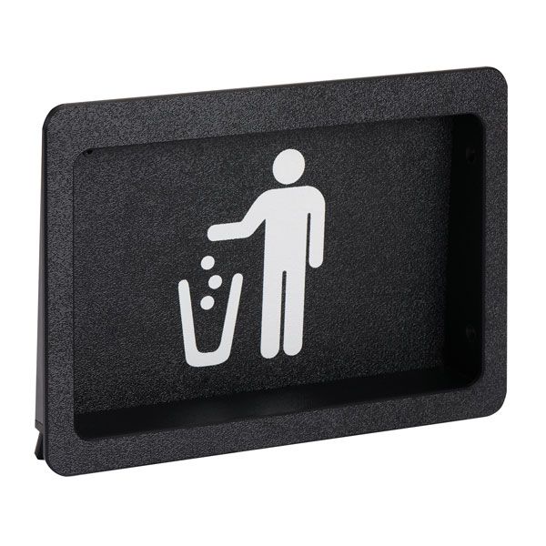 Dispense-Rite FMTD-1BT built-in trash doors