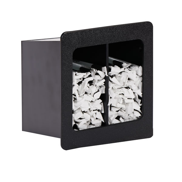 Dispense-Rite FMVS-2SBT built-in straw organizers