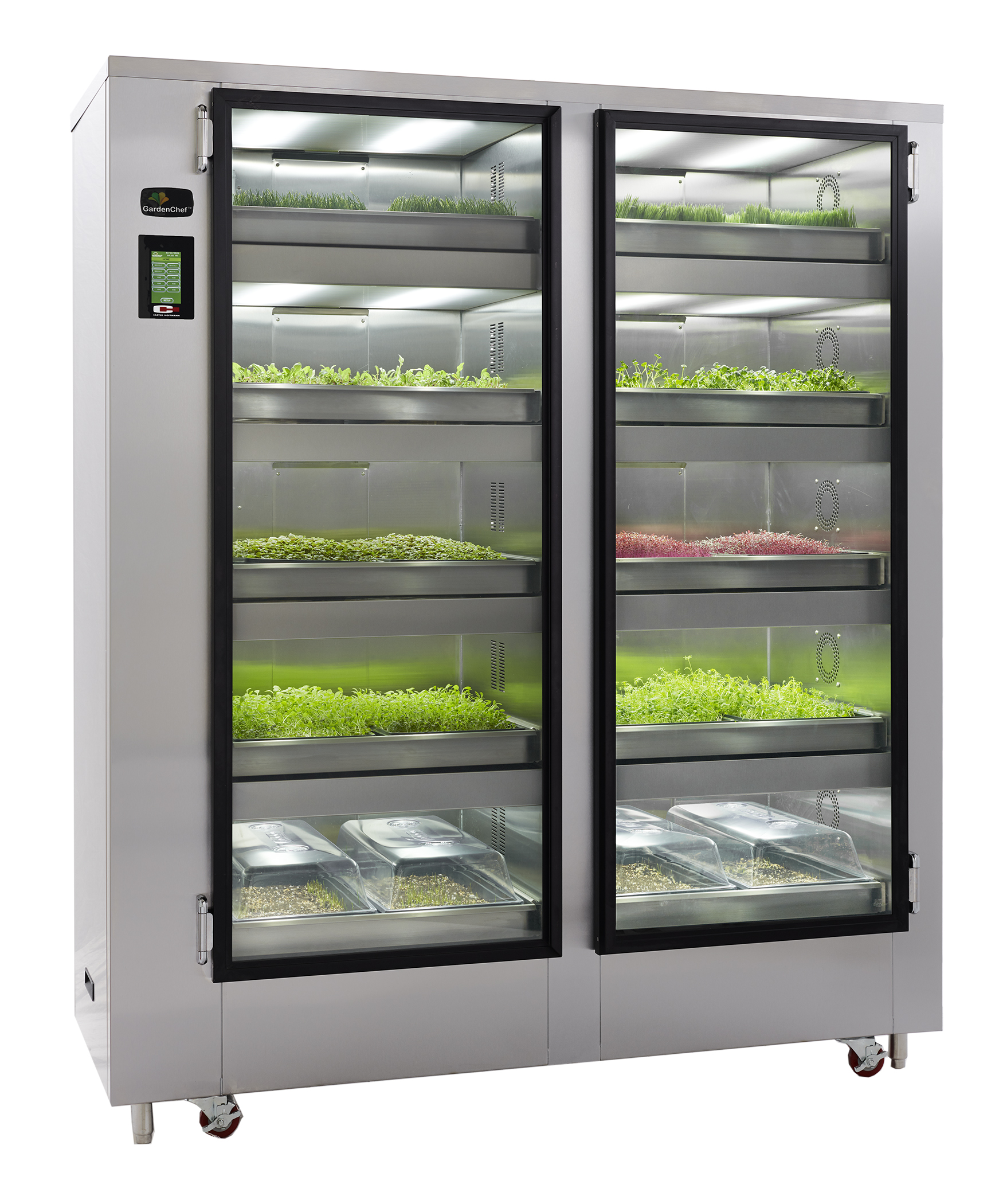 Carter-Hoffmann GC52 cabinet, growing