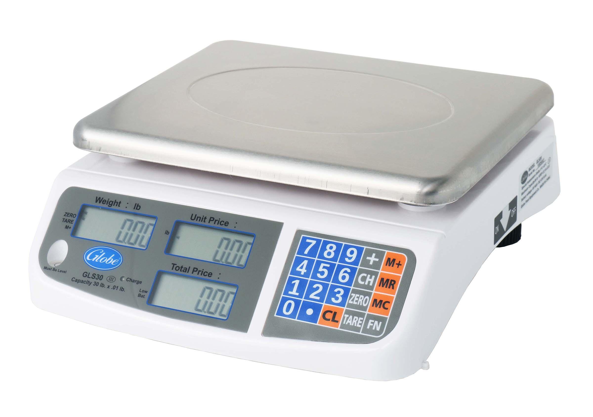 Globe GLS30 scale, price computing