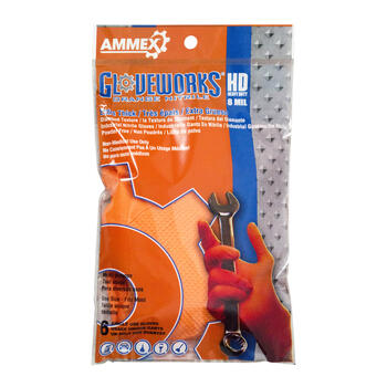 Ammex GWHD6PKORG disposable gloves