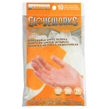Ammex GWV10PK disposable gloves